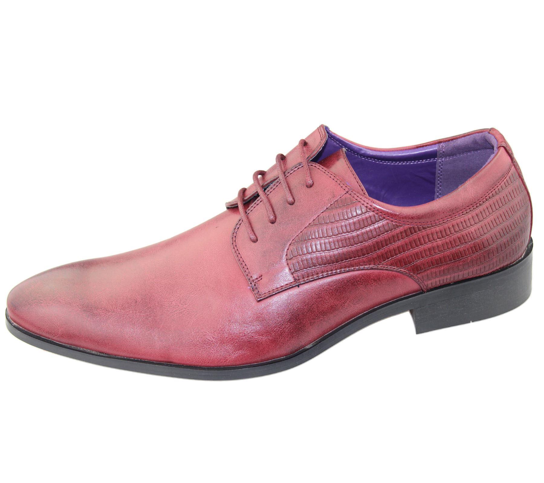 Mens Brogues Shoes fice Casual Wedding Formal Smart