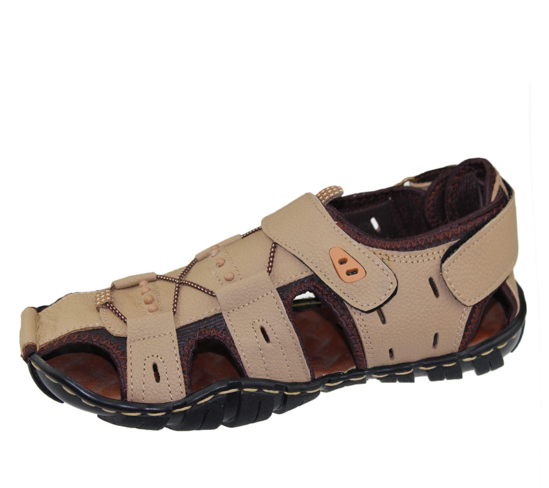 Mens-Sandal-Beach-Buckle-Walking-Fashion-Summer-Casual-Slipper miniatura 19