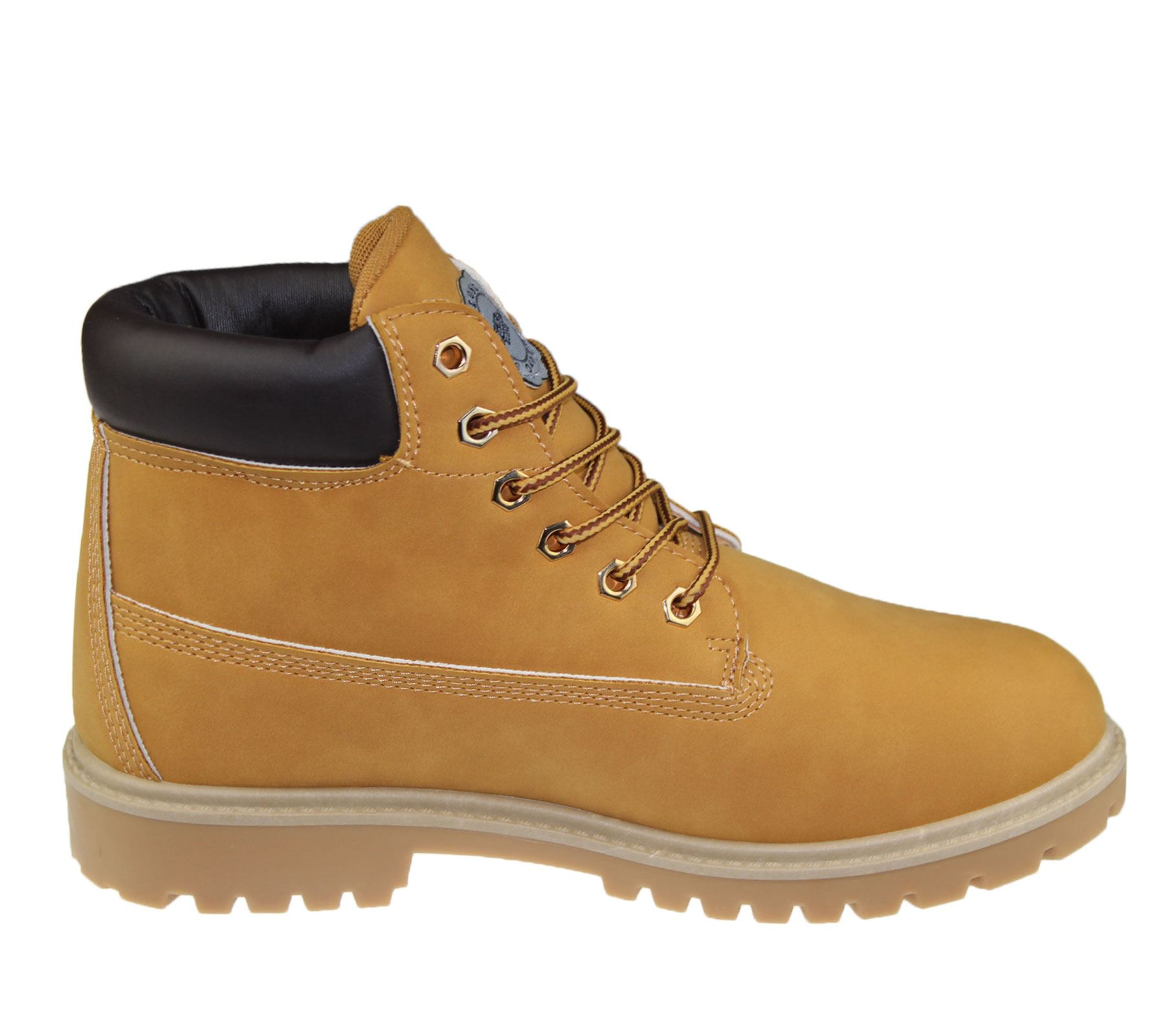 mens boots winter warm combat hiking work high top desert