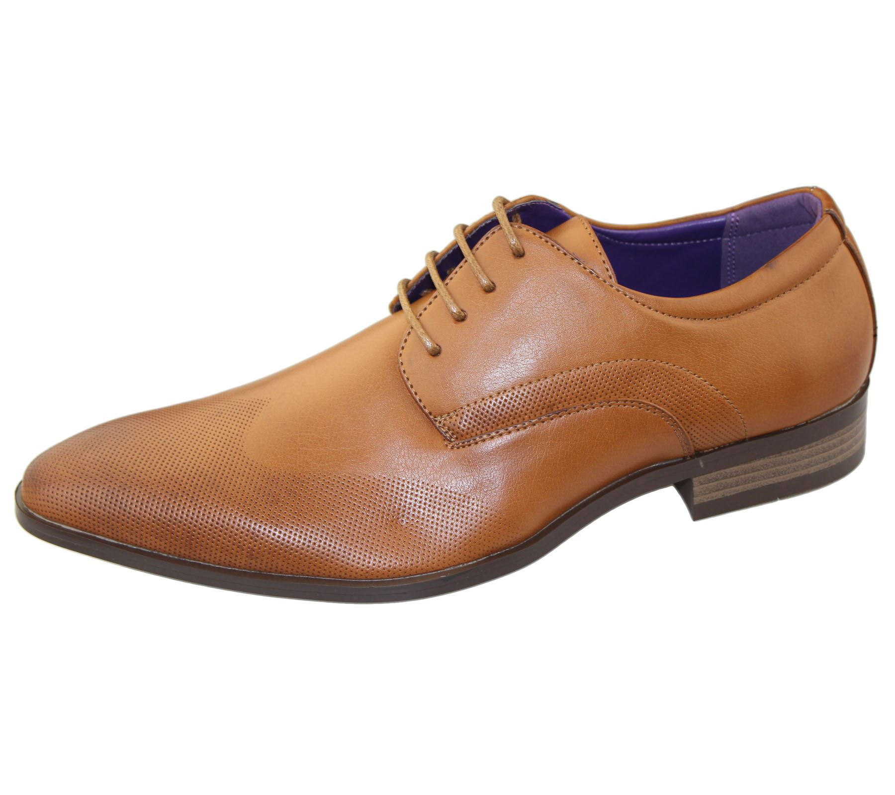 mens office lace up brogues shoes wedding casual formal