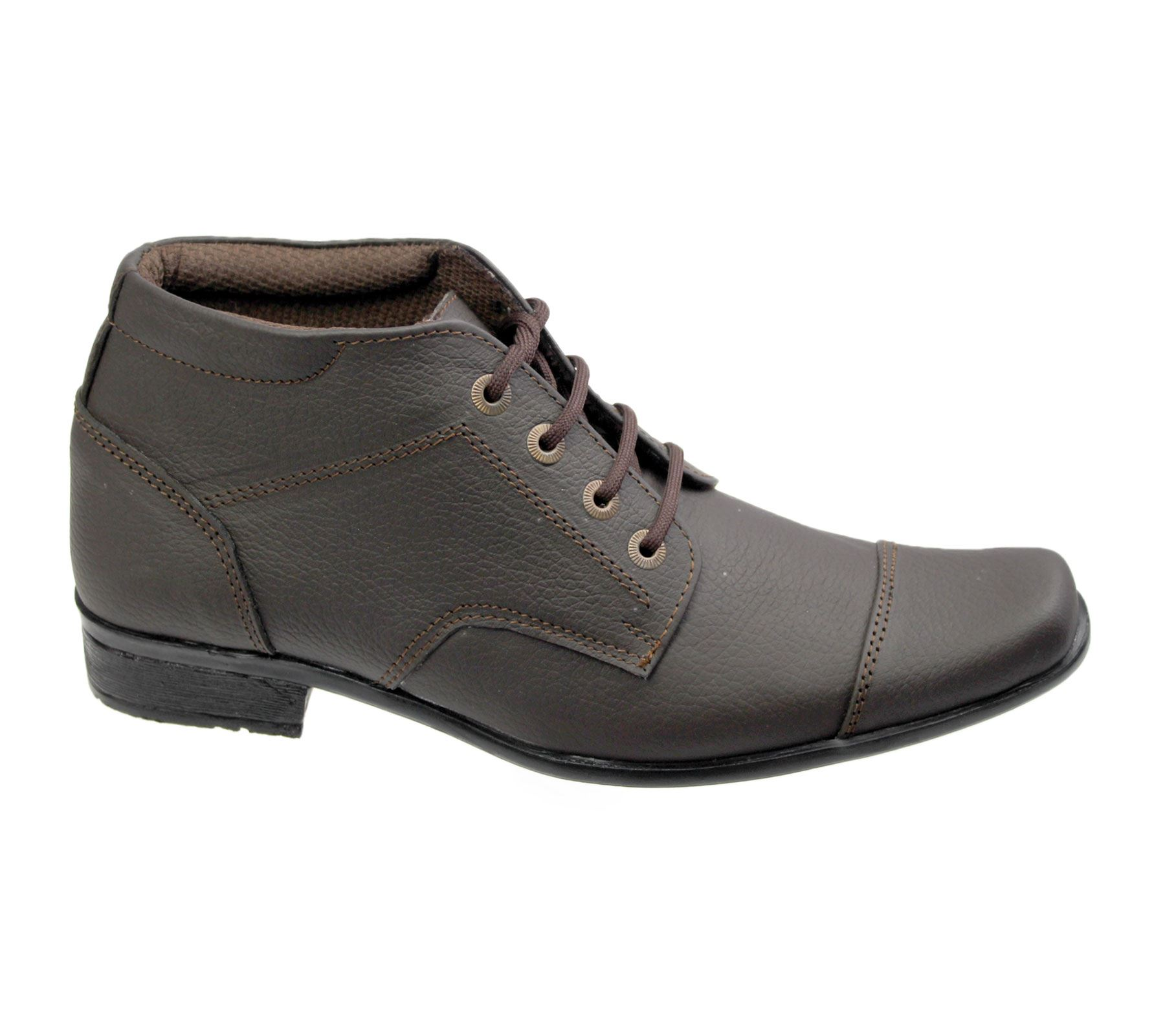 mens lace up shoes ankle boots leather work office formal