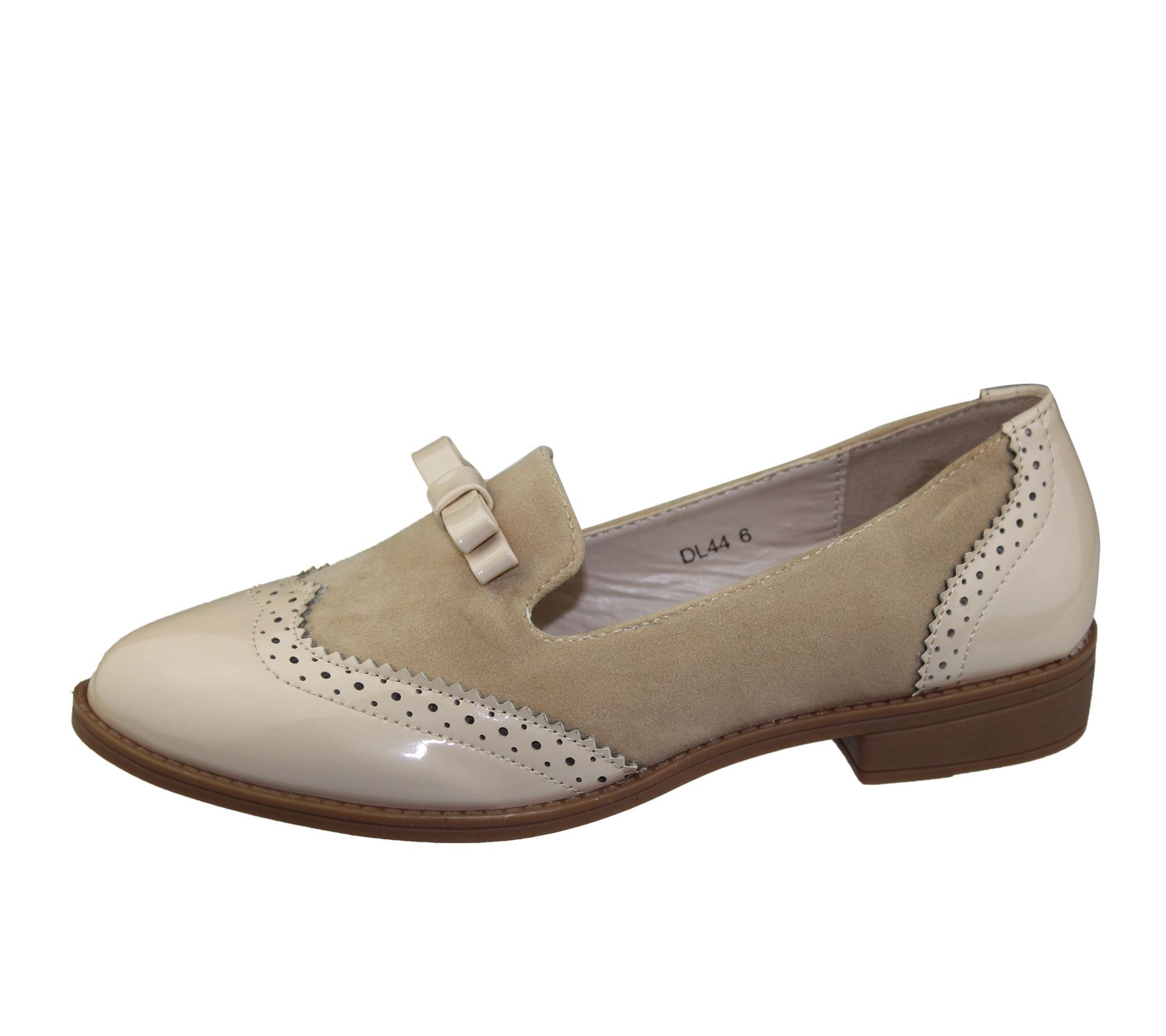 Ladies Leather Brogues Womens Shoes