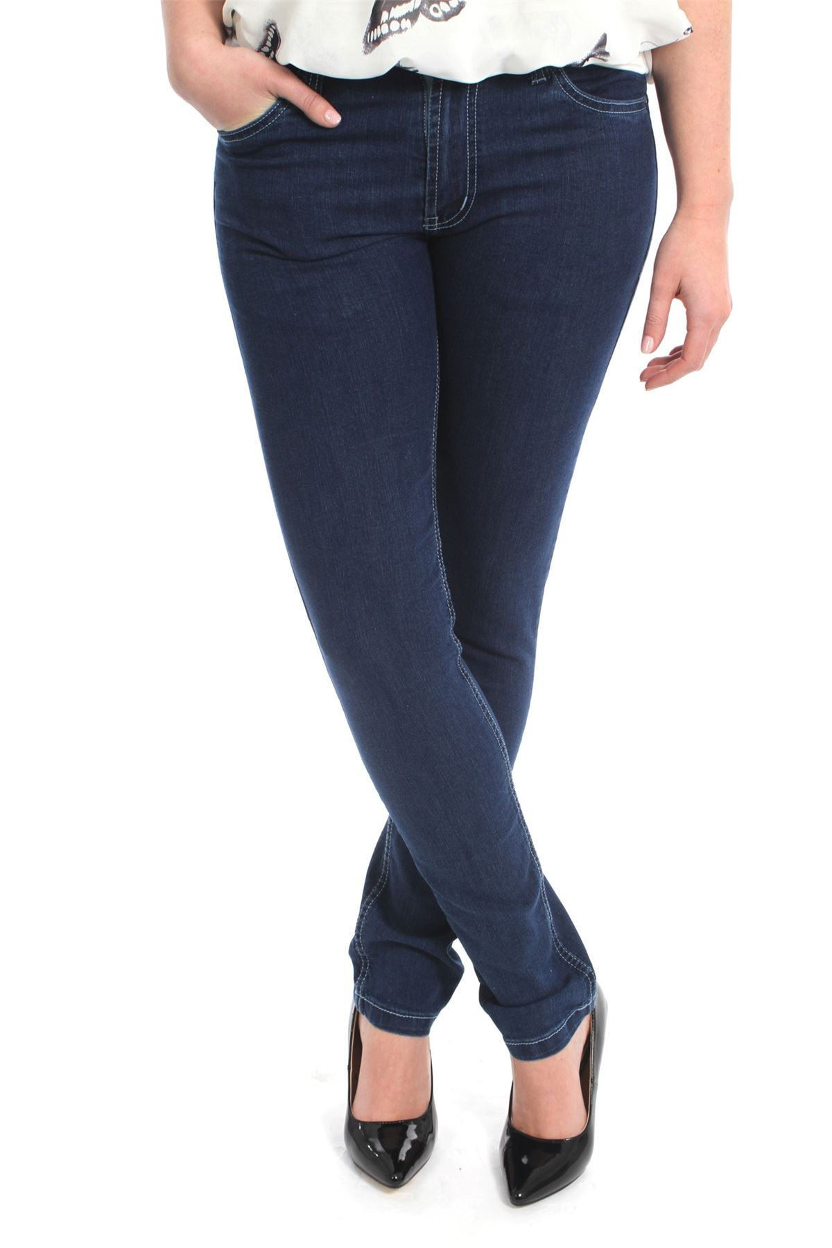 Slim Fit Jeans Women's slim fit jeans are made to fit tighter in the seat and thigh. While, the leg opening can vary from a skinny tapered look, such as the Levi's® ™ Superlow Skinny Jean, to a wider, more boot cut opening, like you'll find in the Wrangler and Cruel Girl jeans lines.