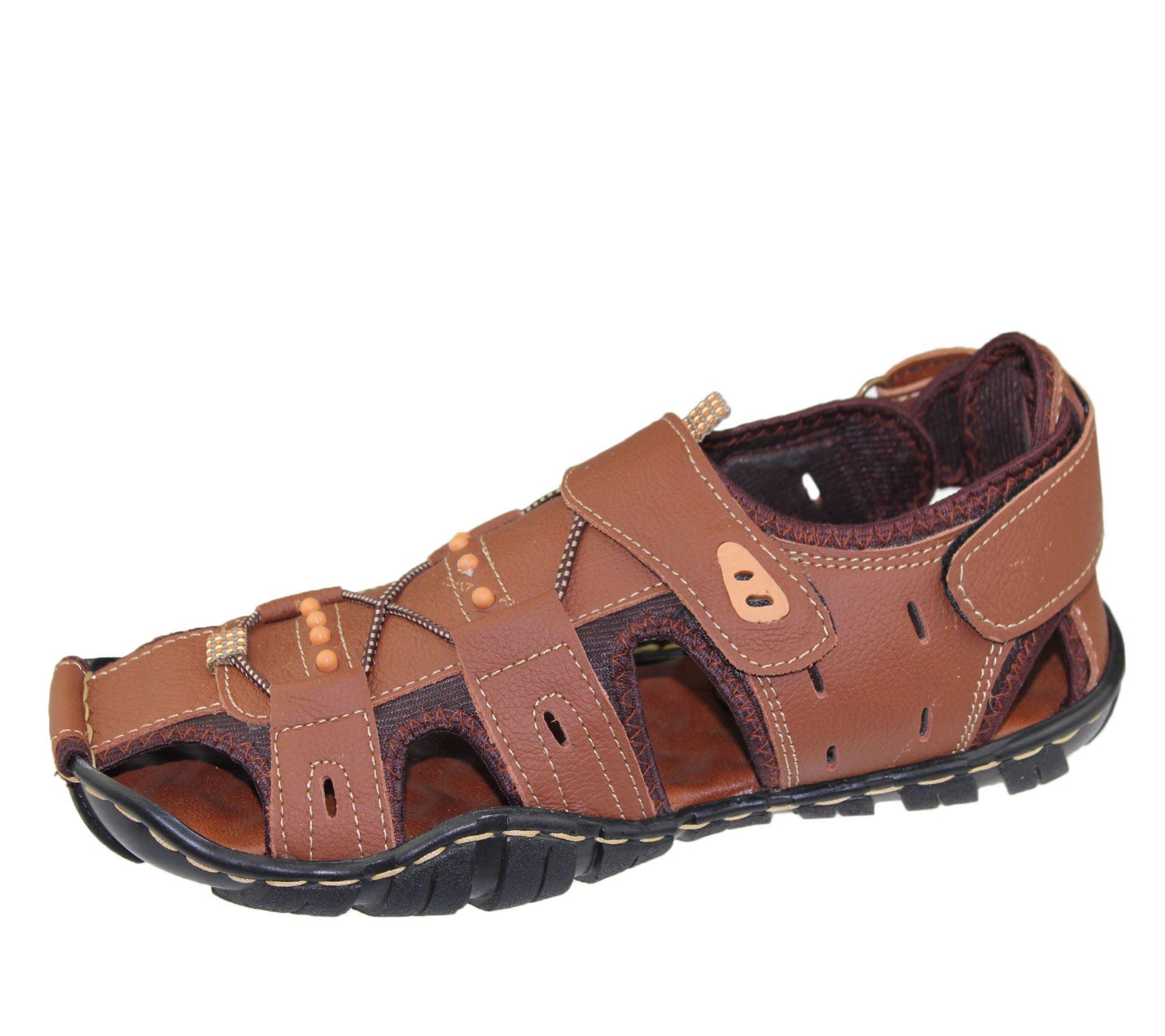 Mens-Sandal-Beach-Buckle-Walking-Fashion-Summer-Casual-Slipper miniatura 12