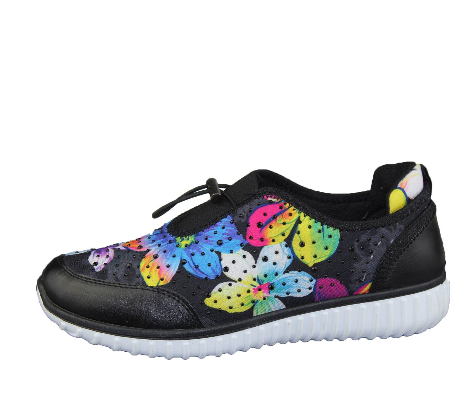 Womens-Trainer-Ladies-Comfort-Walking-Fashion-Summer-Gym-Sport-Flat-Shoes-Size thumbnail 3