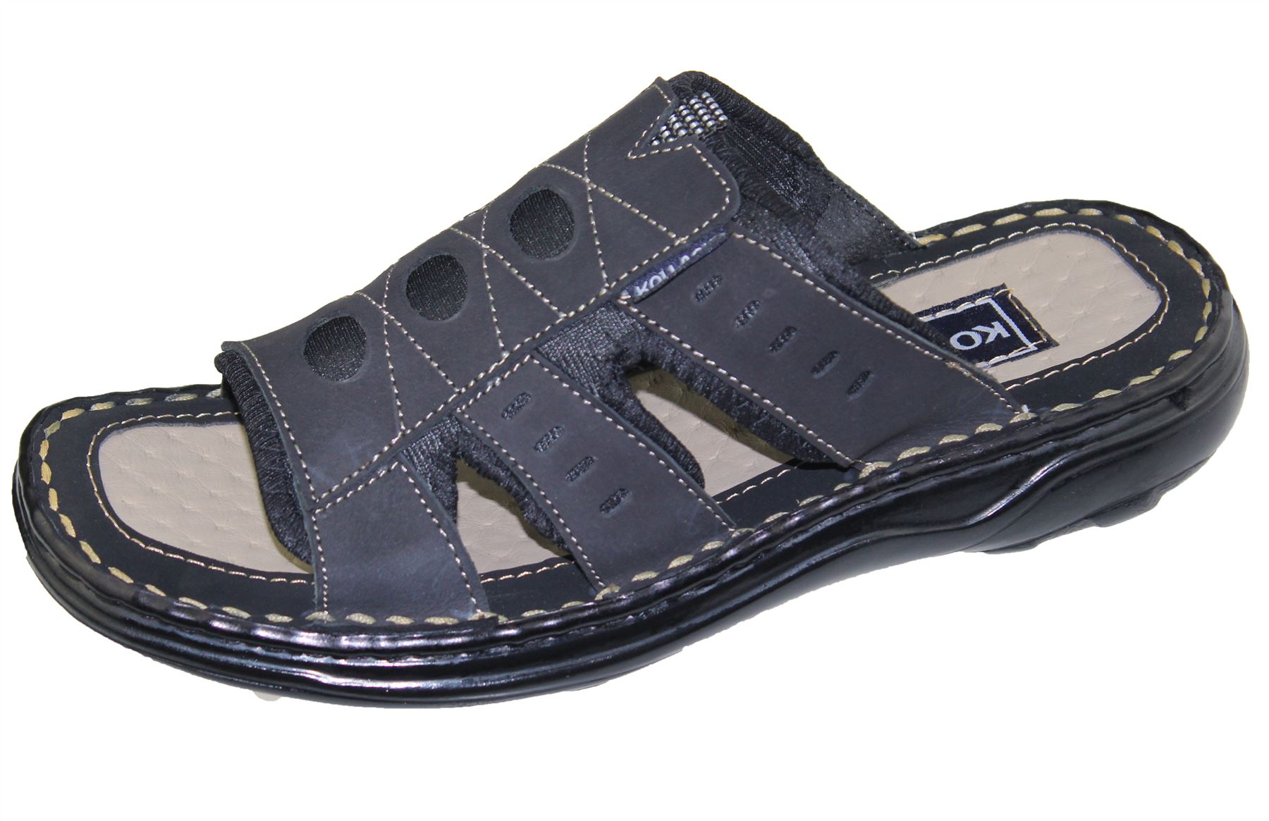 Mens-Slipper-Sandal-Sports-Beach-Buckle-Walking-Fashion-Summer-Casual-Shoes-Size miniatura 8
