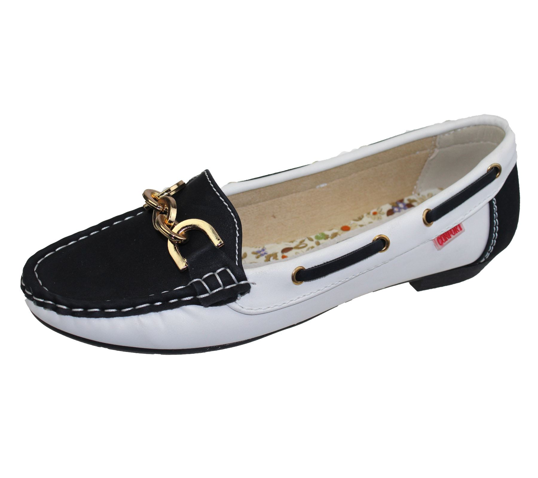 Womens Las Loafers Flat Casual Comfort Office Work