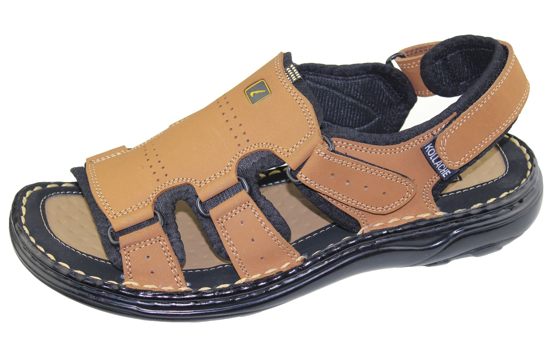 Mens Walking Fashion Sports Sandal Beach Buckle Summer ...