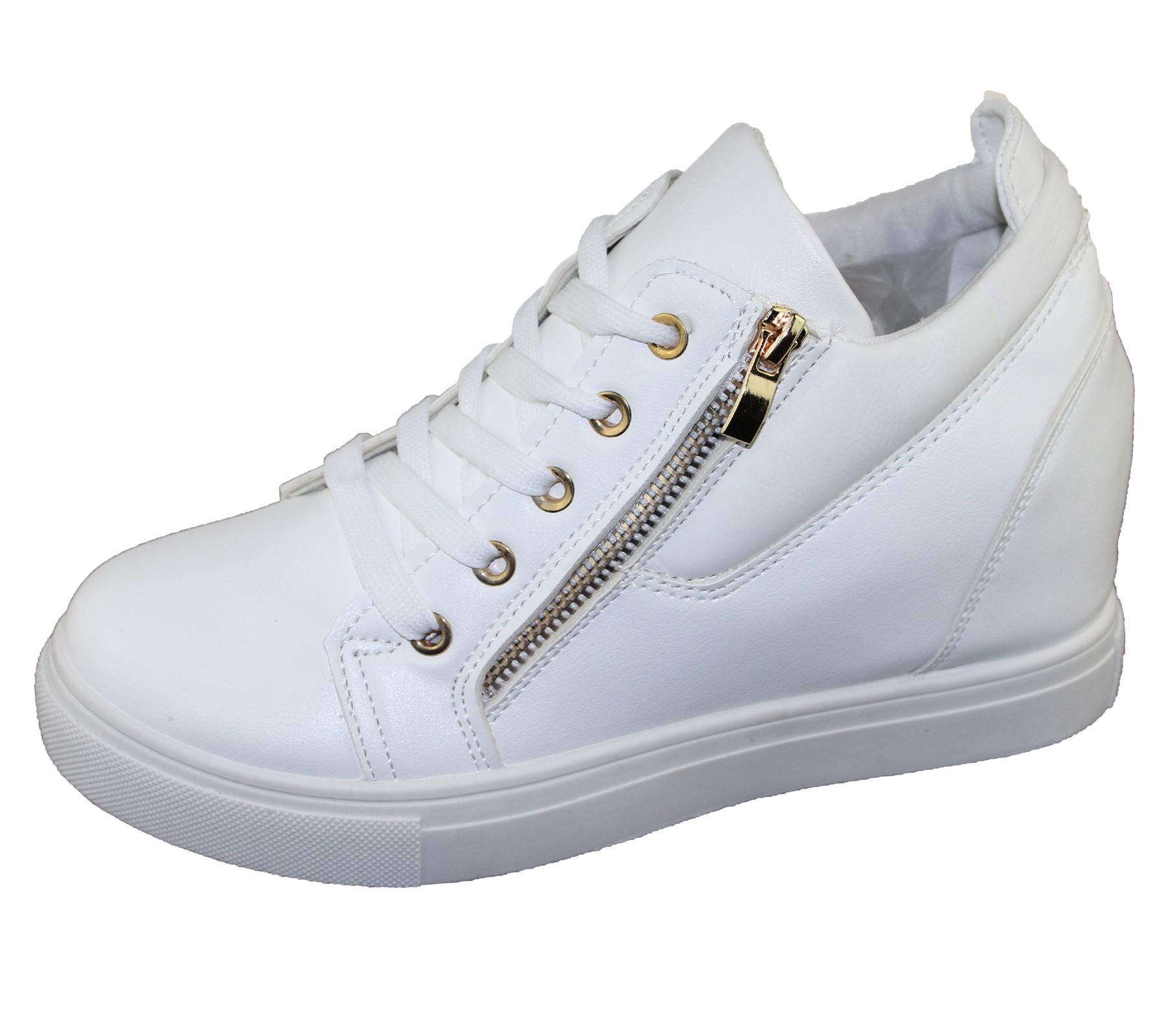 Ladies Patdnt Leathrr Lace Up Shoes
