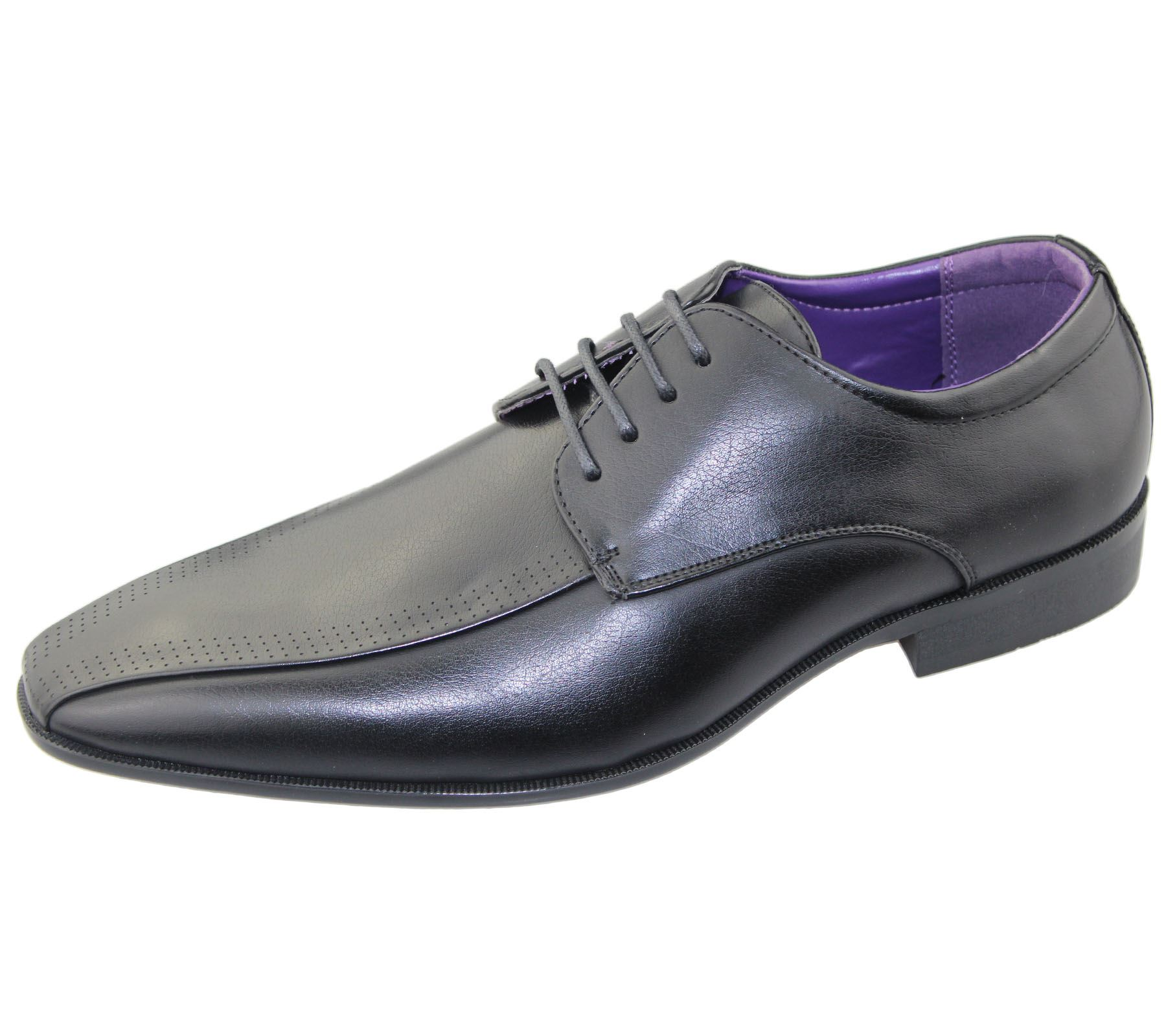 Mens Office Brogues Shoes Wedding Casual Smart Dress Formal Shoes New Size