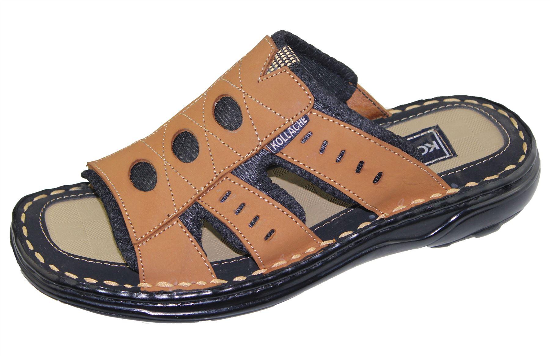Mens-Slipper-Sandal-Sports-Beach-Buckle-Walking-Fashion-Summer-Casual-Shoes-Size miniatura 34