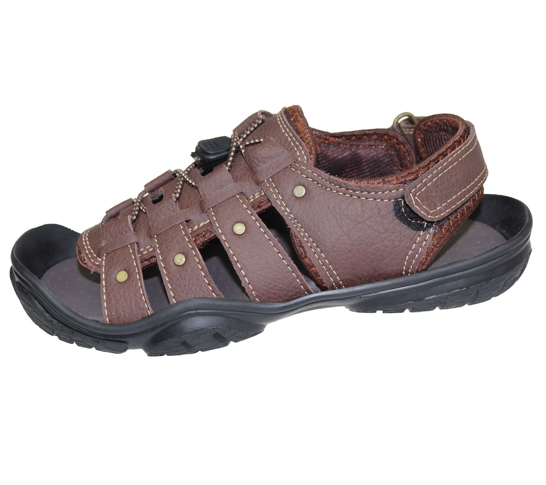 Boys Sandals Vecro Casual Sports Comfort Walking Summer Beach Mules Slipper