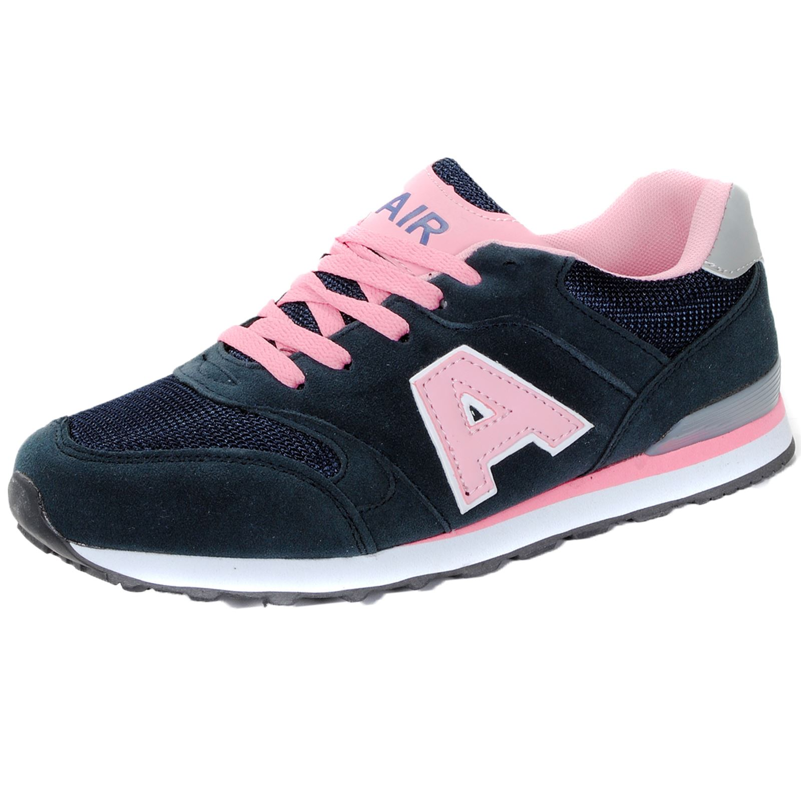 LADIES SPORTS TRAINERS GYM JOGGING RUNNING CASUAL TRAINER ...