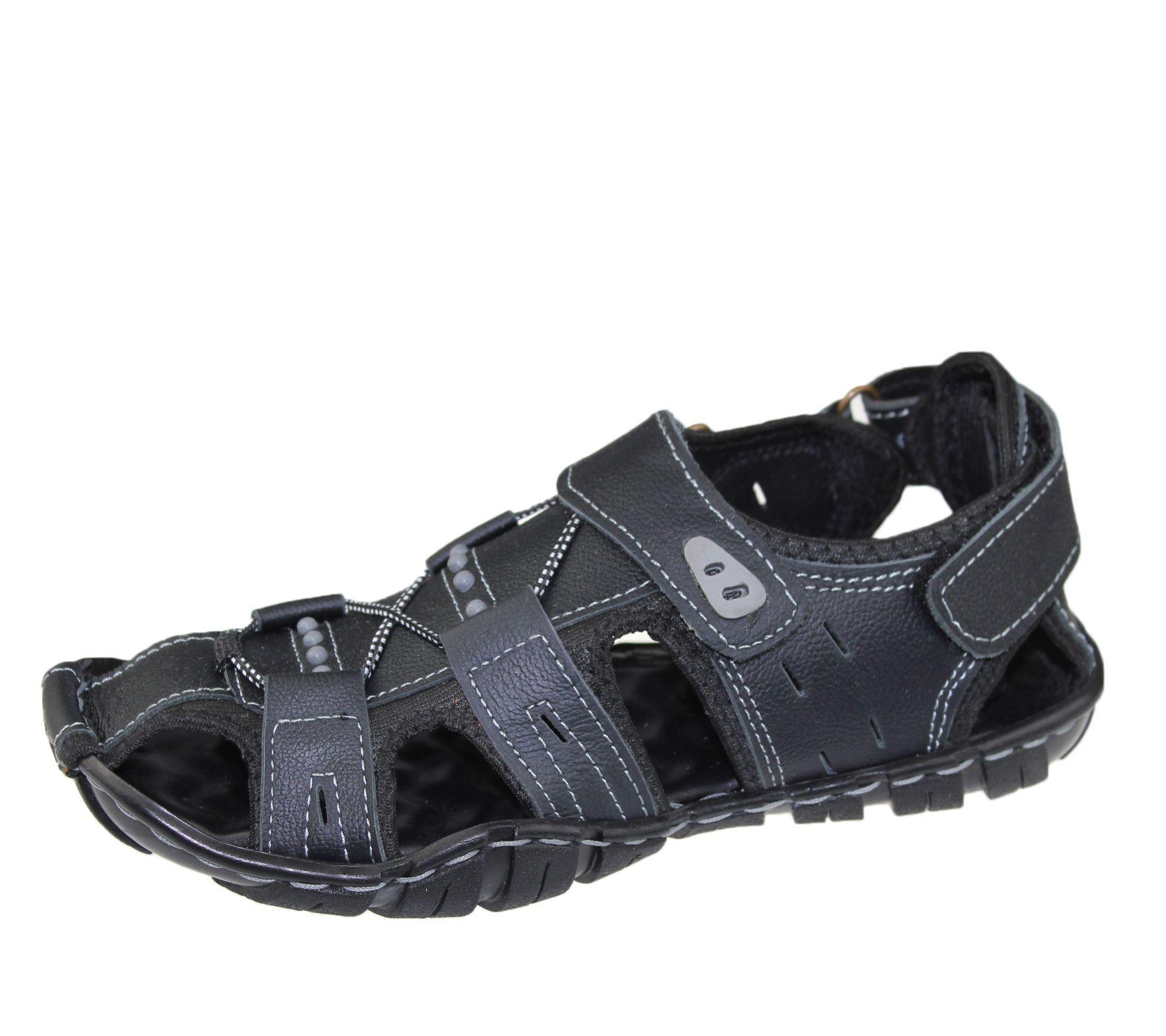 Mens-Sandal-Beach-Buckle-Walking-Fashion-Summer-Casual-Slipper miniatura 6