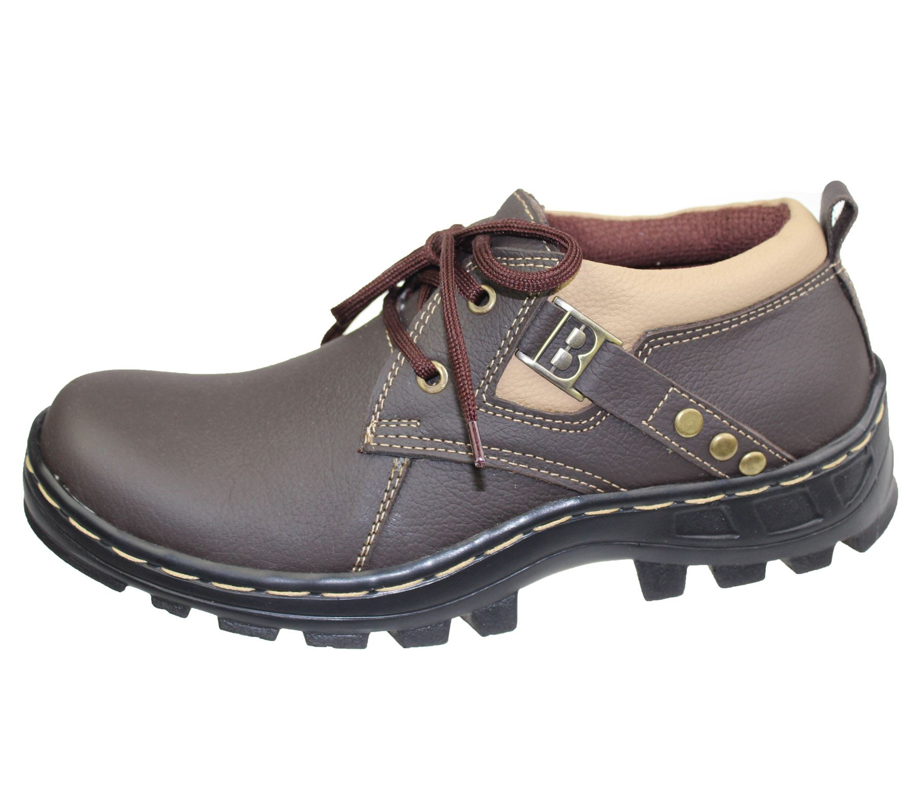 boys lace up shoes work casual comfort boots hiking