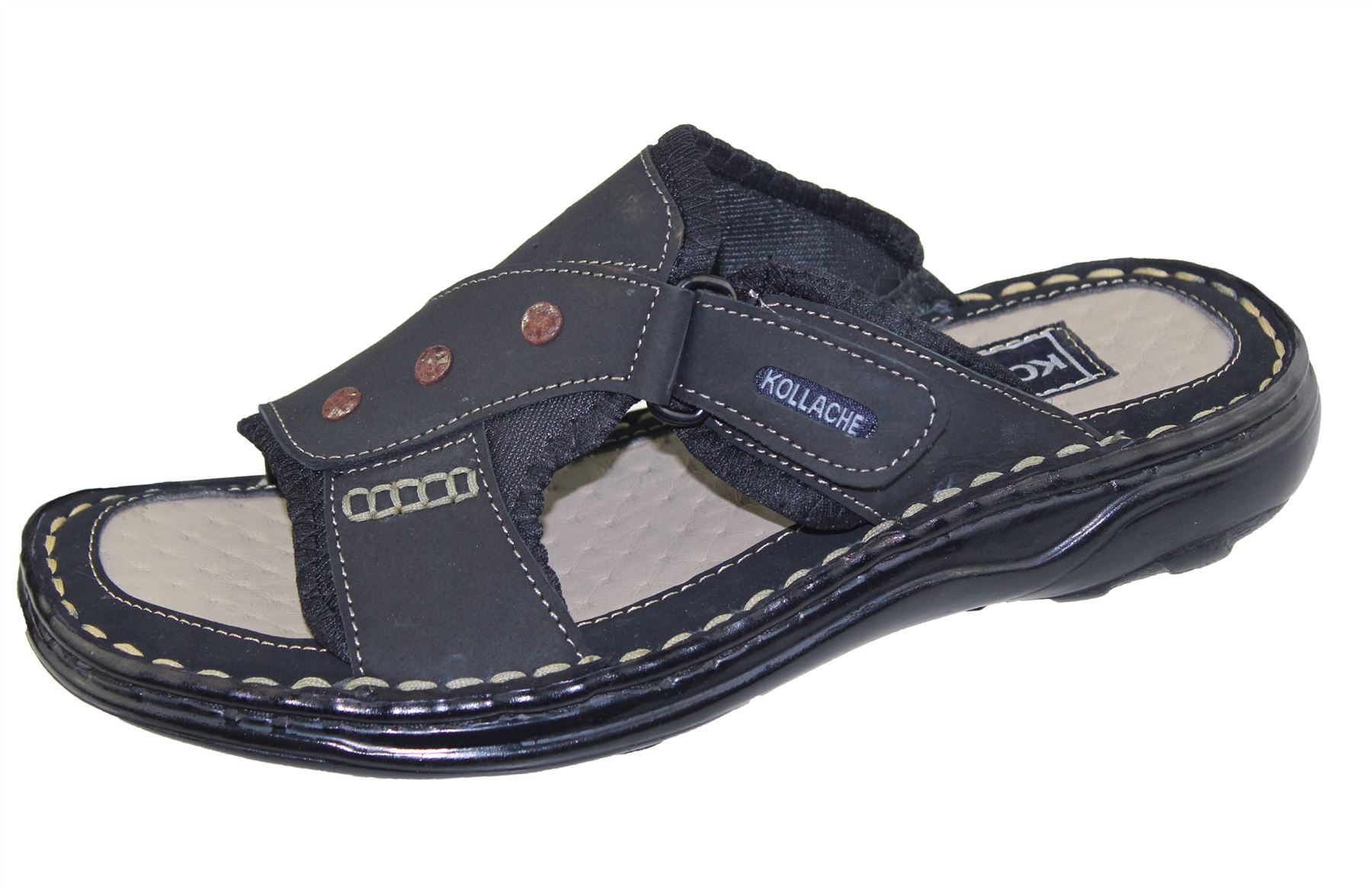 Mens Slipper Sports Sandal Buckle Beach Walking Fashion ...