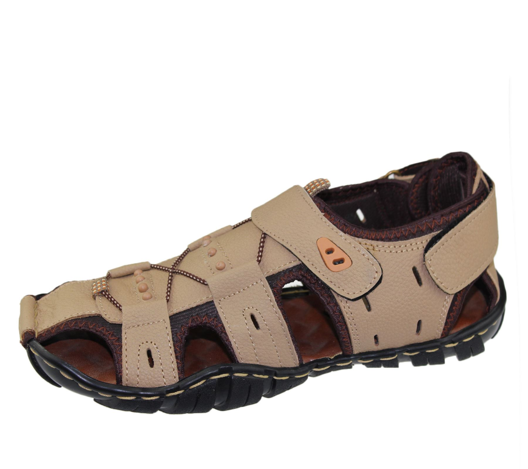 Mens-Sandal-Beach-Buckle-Walking-Fashion-Summer-Casual-Slipper miniatura 20