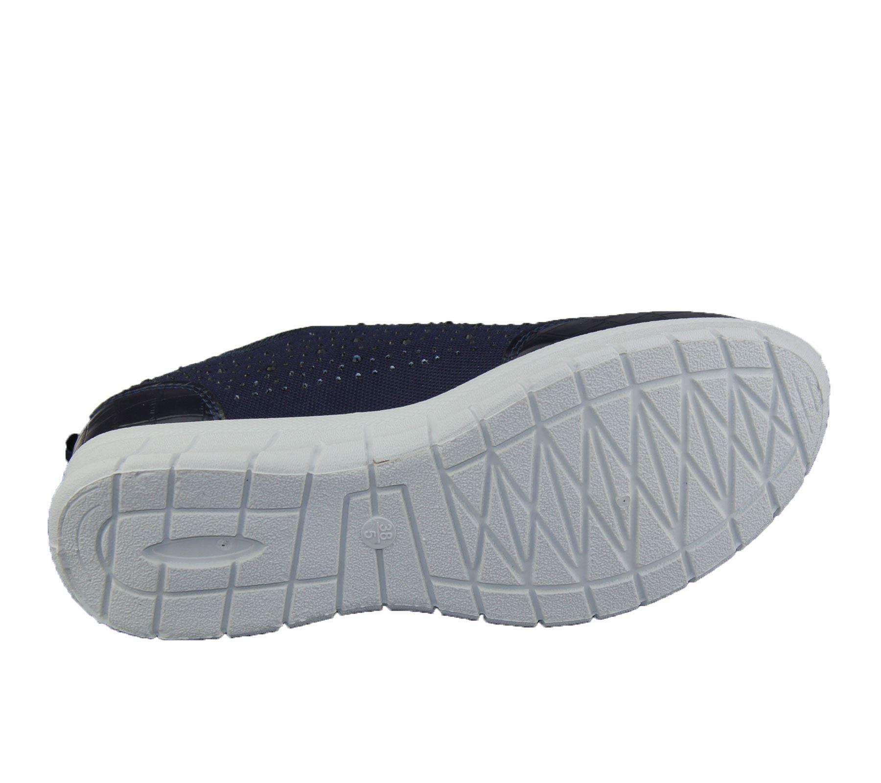 Womens-Trainer-Ladies-Comfort-Walking-Fashion-Summer-Gym-Sport-Flat-Shoes-Size thumbnail 15
