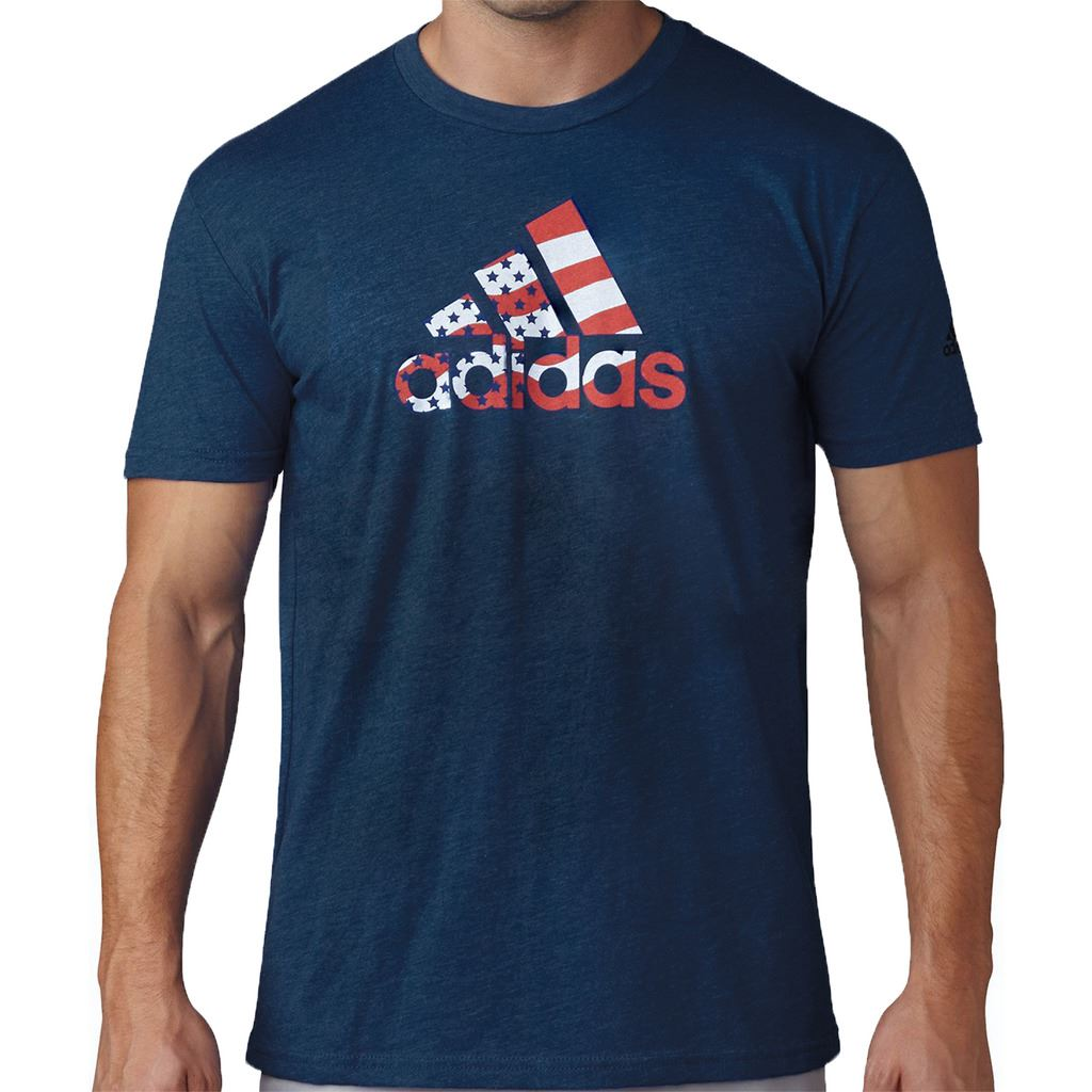 2016 adidas mens golf usa t shirts ebay for Adidas lotus t shirt