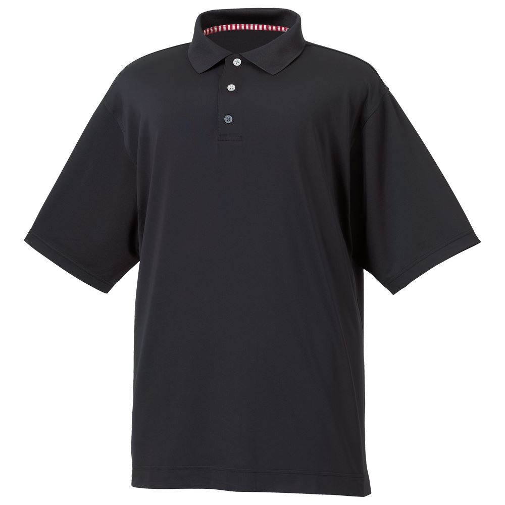 Footjoy mens stretch lisle golf polo shirt european slim for Mens slim polo shirts
