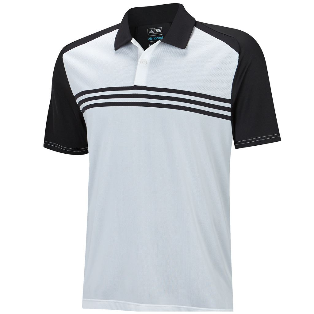 sale adidas climacool sport classic 3 stripes mens golf. Black Bedroom Furniture Sets. Home Design Ideas