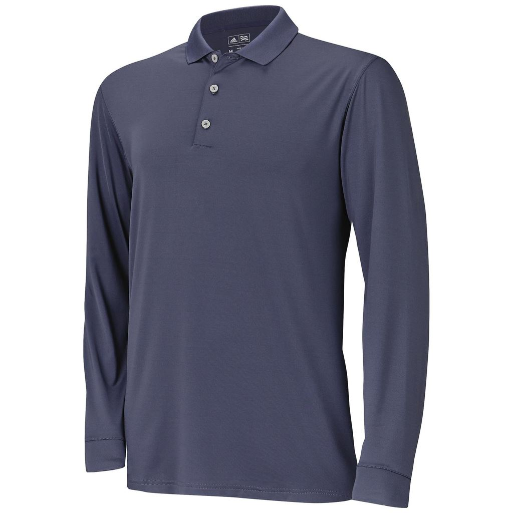 Sale 2015 adidas golf uv mens long sleeve solid for Mens long sleeve t shirts sale