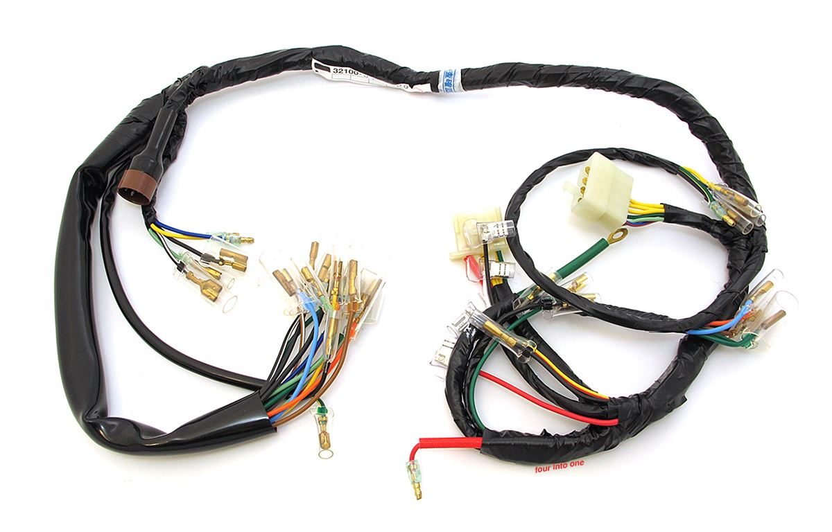 cb750 k 5 reproduction wiring harness   37 wiring diagram