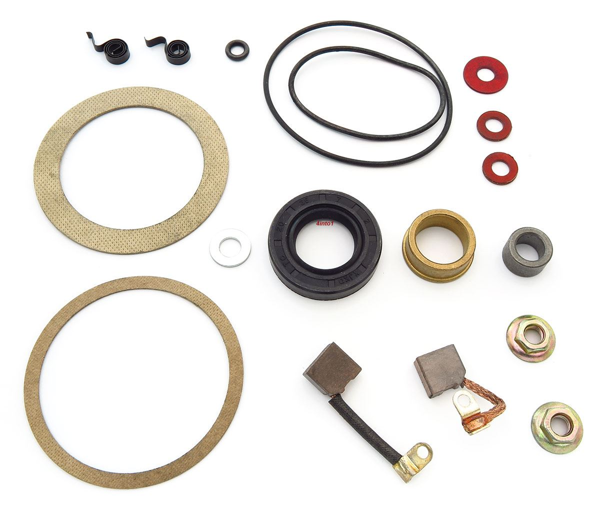 Arrowhead Starter Motor Rebuild Kit Honda 175 200 350 And 360 Smu9118 Ebay