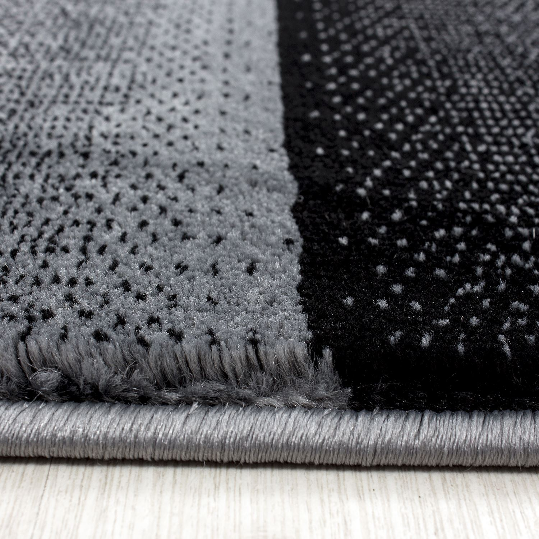 Black And White Rug Ebay Uk: Modern Contemporary Squares Swirls Black Red Beige Grey