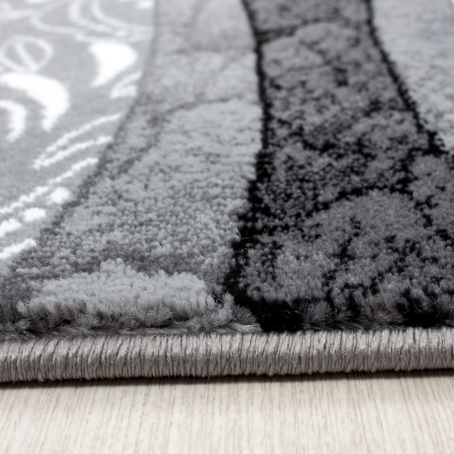 Modern Contemporary Squares Swirls Black Red Beige Grey Cream Extra Large Rugs : eBay