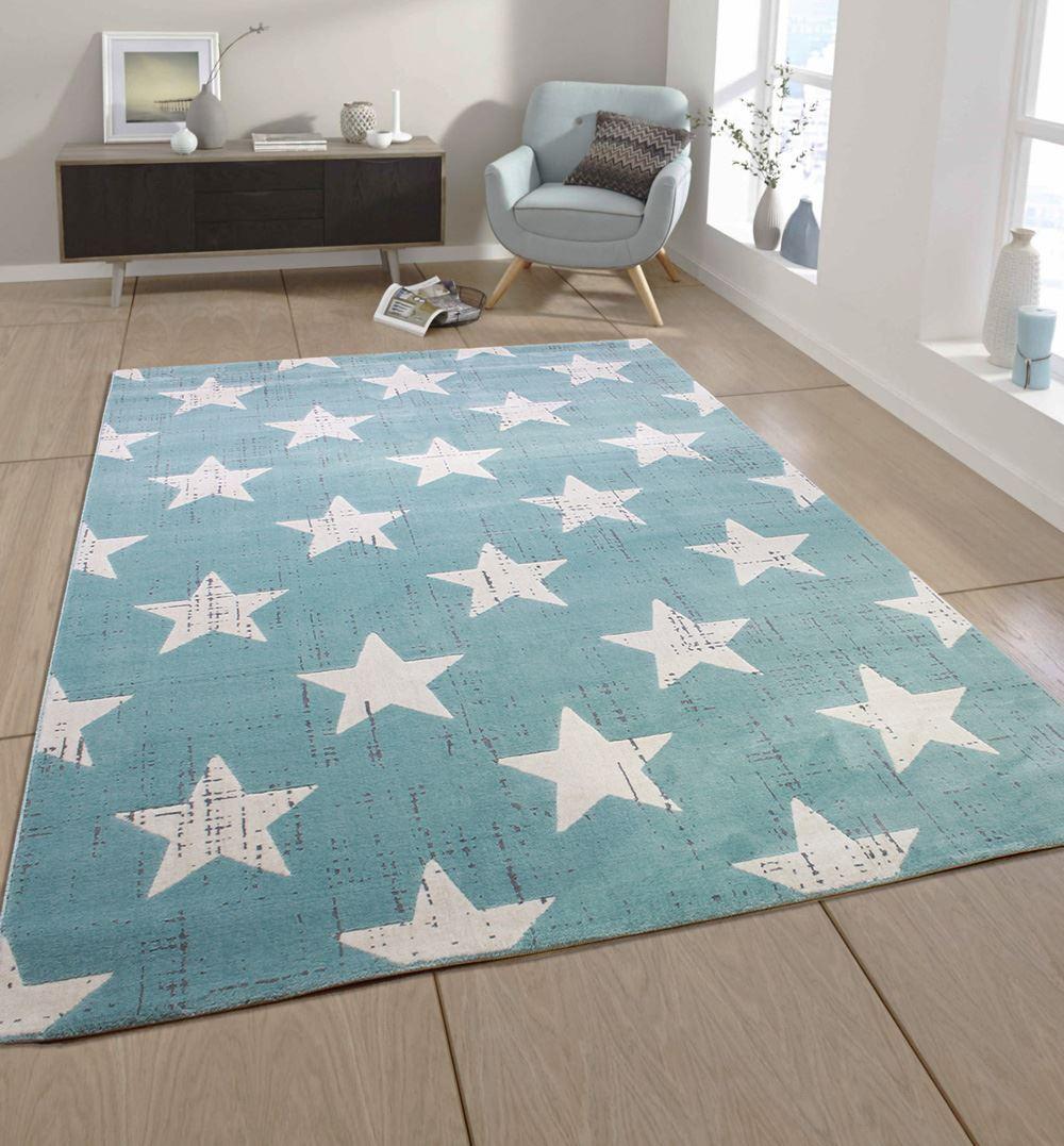 modern midnight duck egg blue grey and cream stars. Black Bedroom Furniture Sets. Home Design Ideas
