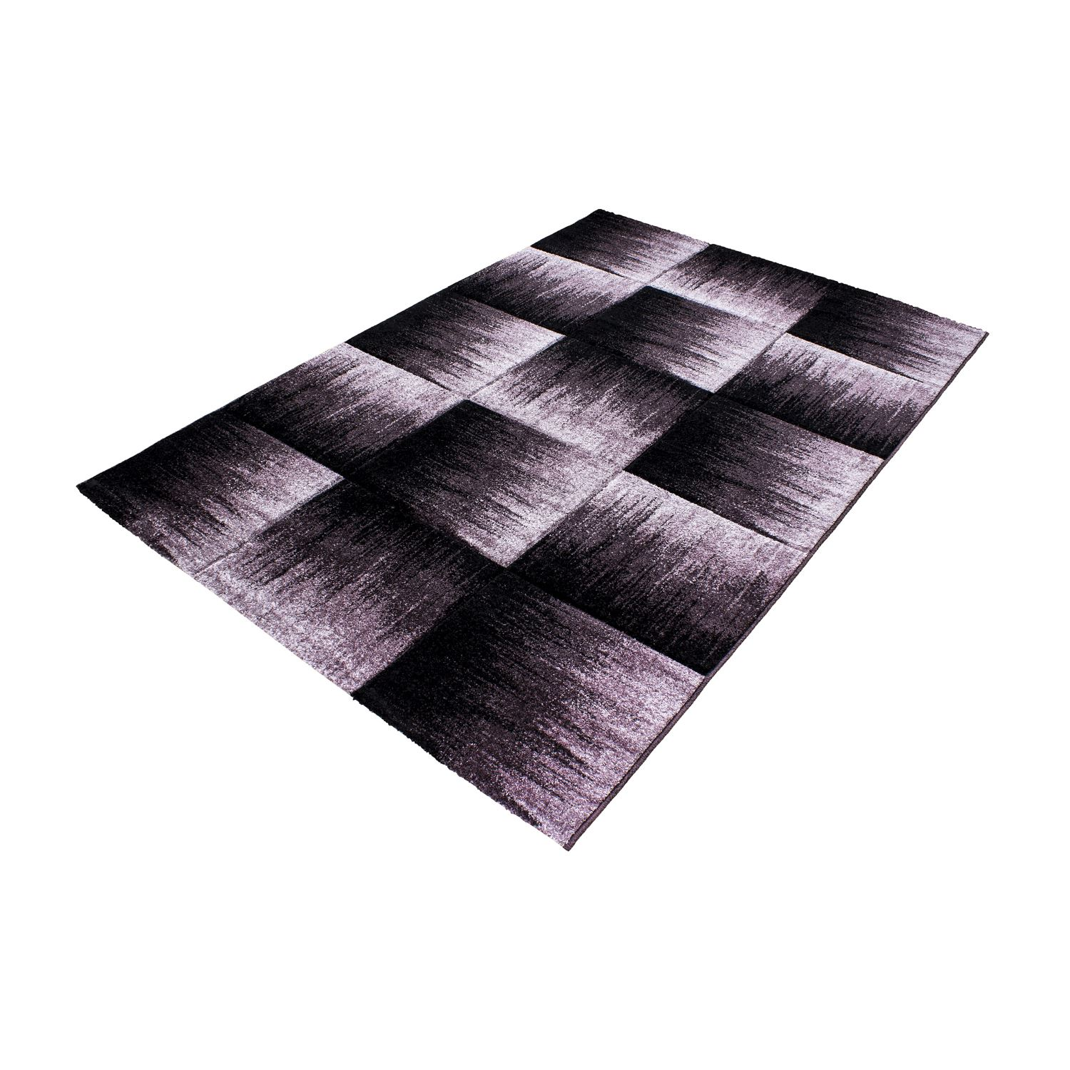 Black And White Rug Ebay Uk: Modern Contemporary Black Grey Brown Purple Grey Swirls