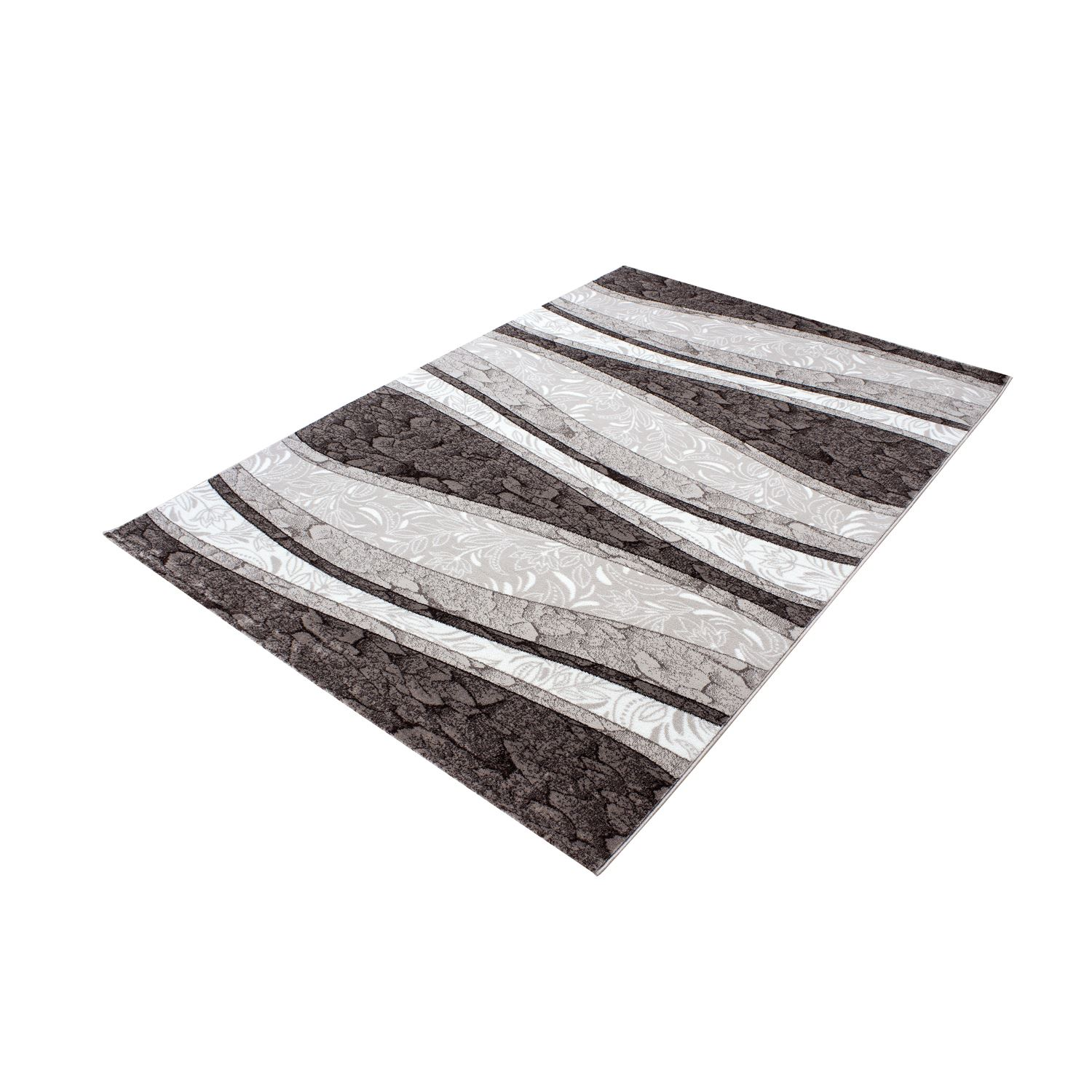Black And White Rug Ebay Uk: Modern Contemporary Squares Swirls Black Red Beige Grey