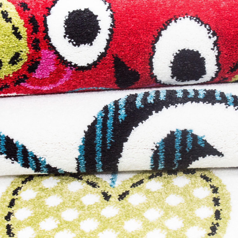 Kids Childrens Soft Quality Bedroom Blue Pink Car Rugs