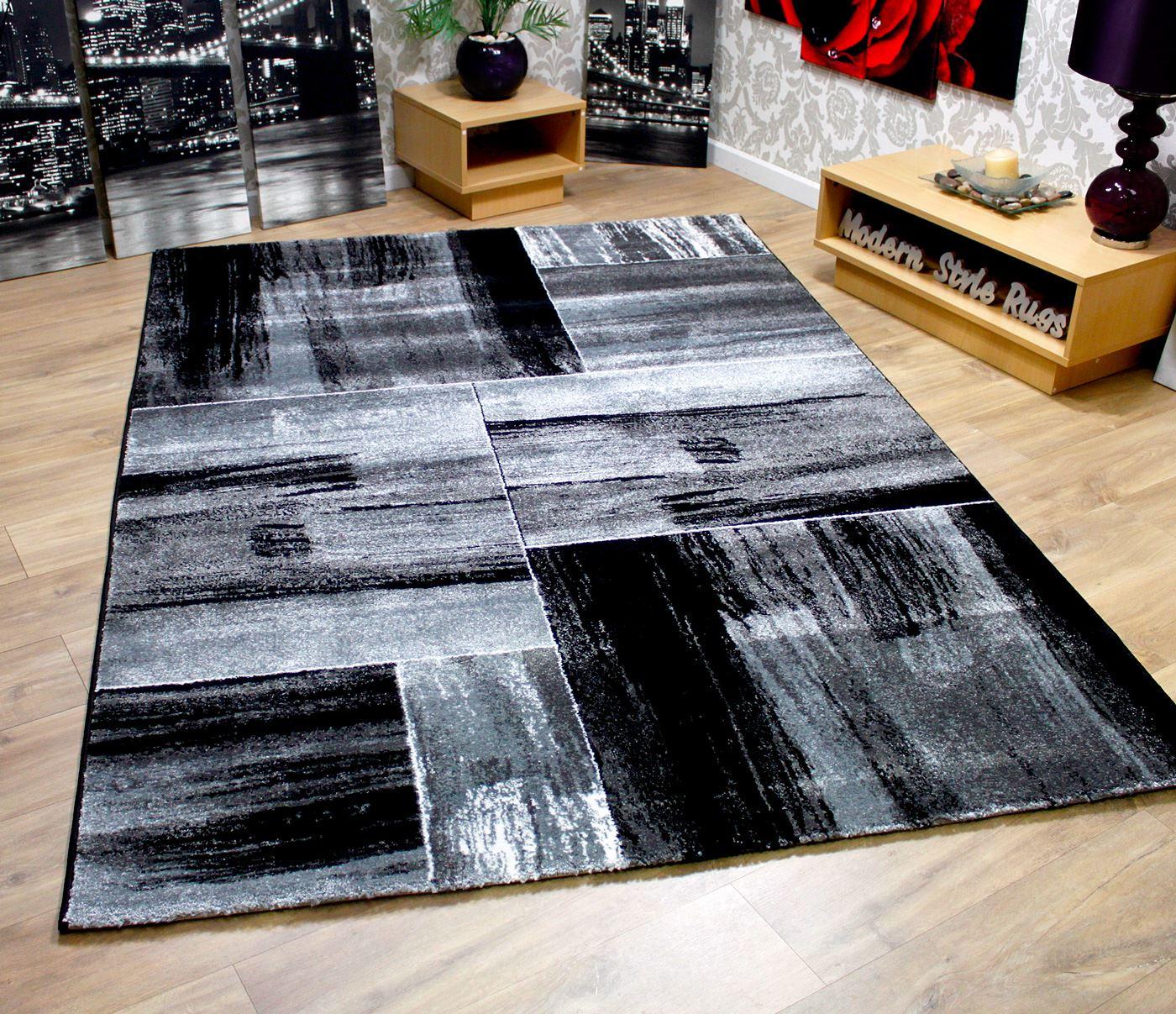 modern black rug hotel ' x ' rug modern black area rug blu dot  - modern square pattern contemporary designer rugs black red greenmodernsquarepatterncontemporarydesignerrugsblackred