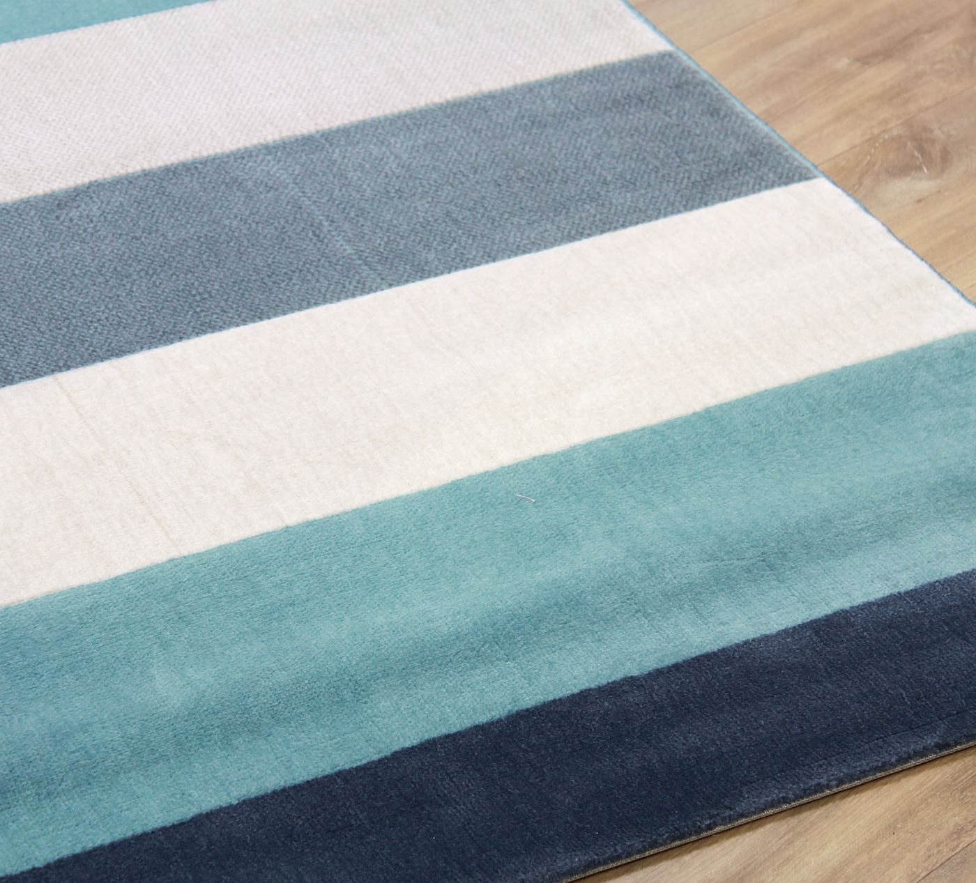Soft Touch Modern Stripes Zig Zag Flowers Cream Grey Teal Blue Extra