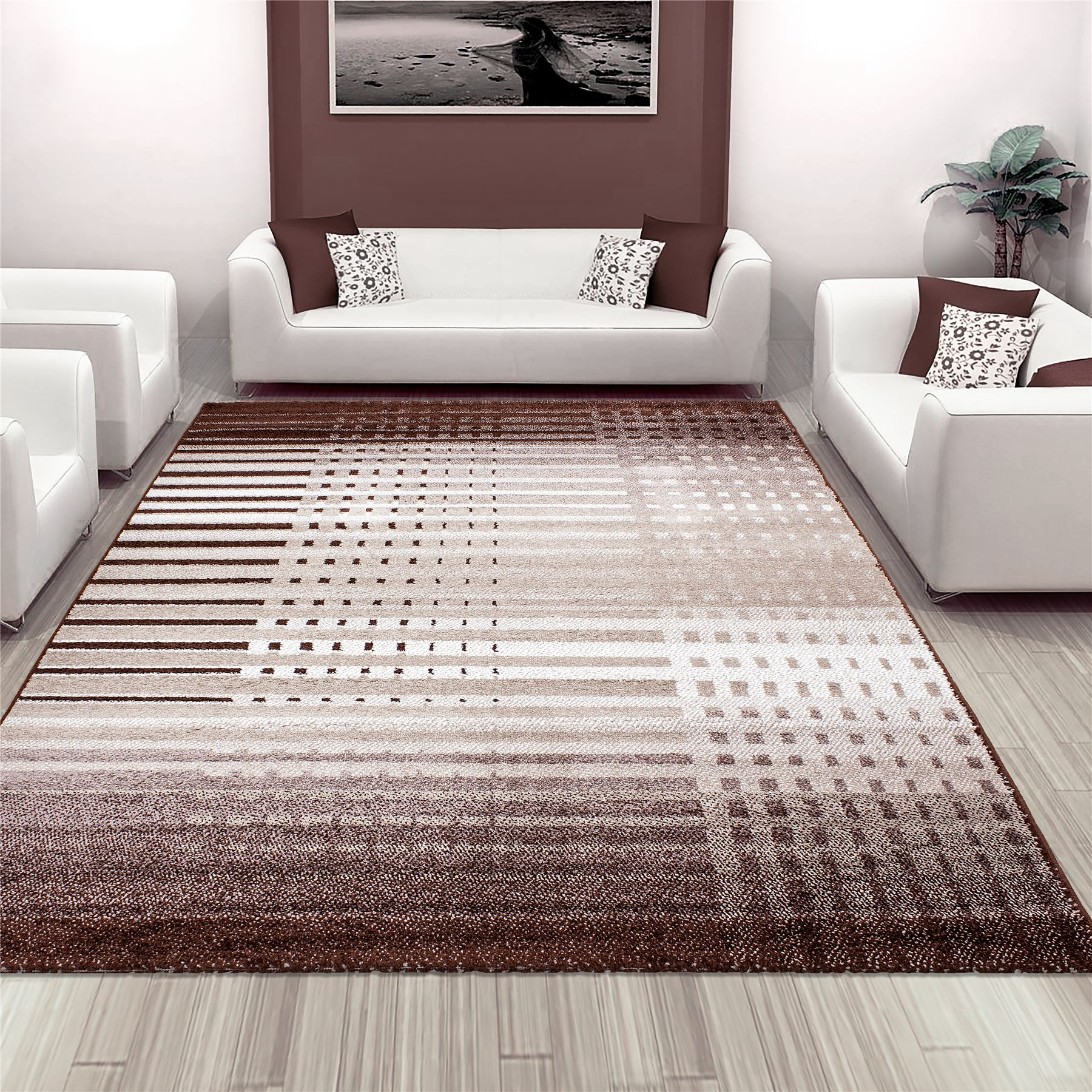 new soft touch home living room stripe lines pattern