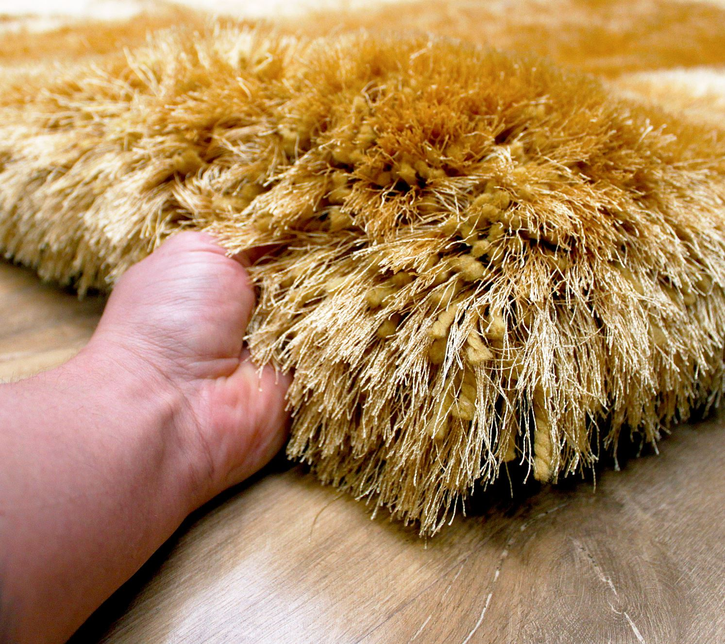 how to clean a shag pile rug