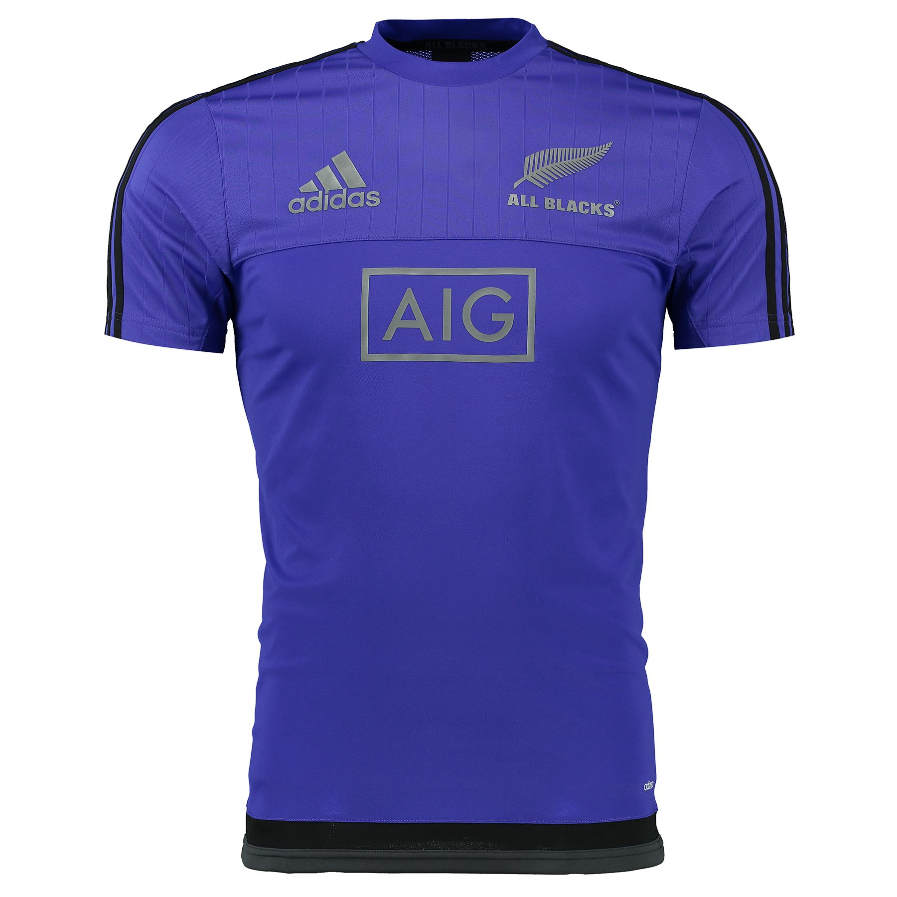 adidas mens all blacks rugby perf short sleeve training t shirt top tee purple ebay. Black Bedroom Furniture Sets. Home Design Ideas
