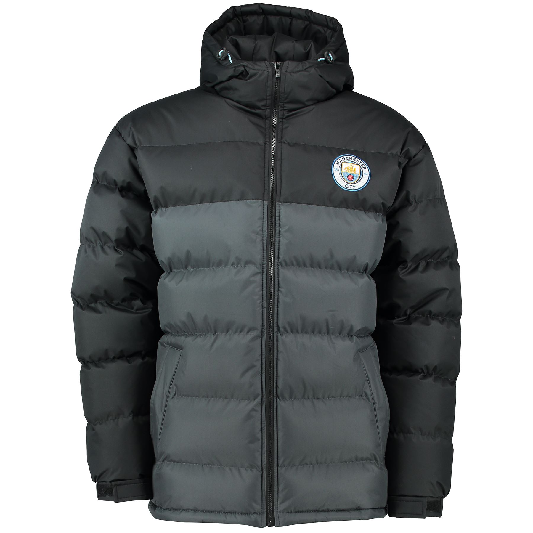 Manchester City Mens Gents Football Classic Padded Coat