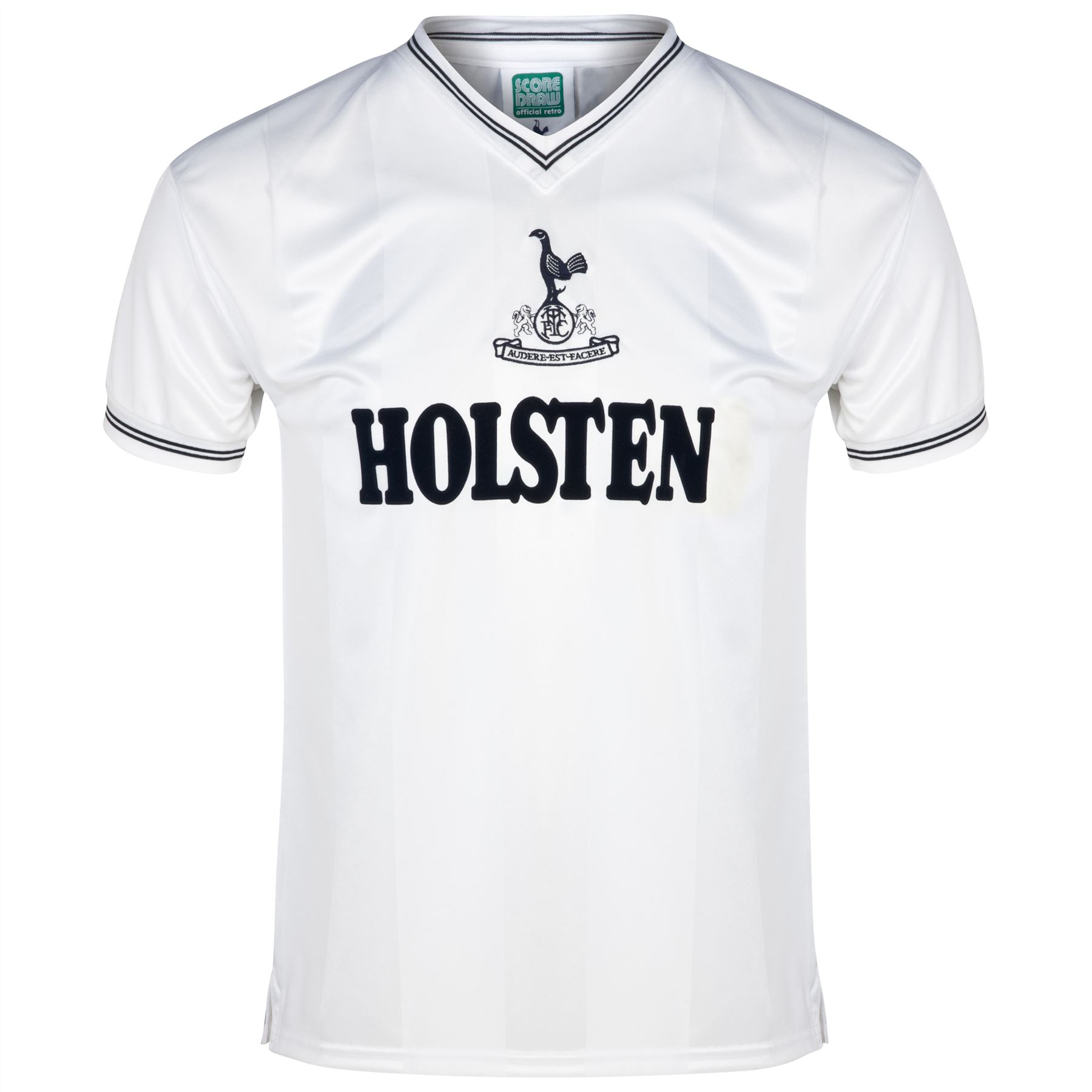 Tottenham: Score Draw Retro Football Tottenham Hotspur 1983 Short