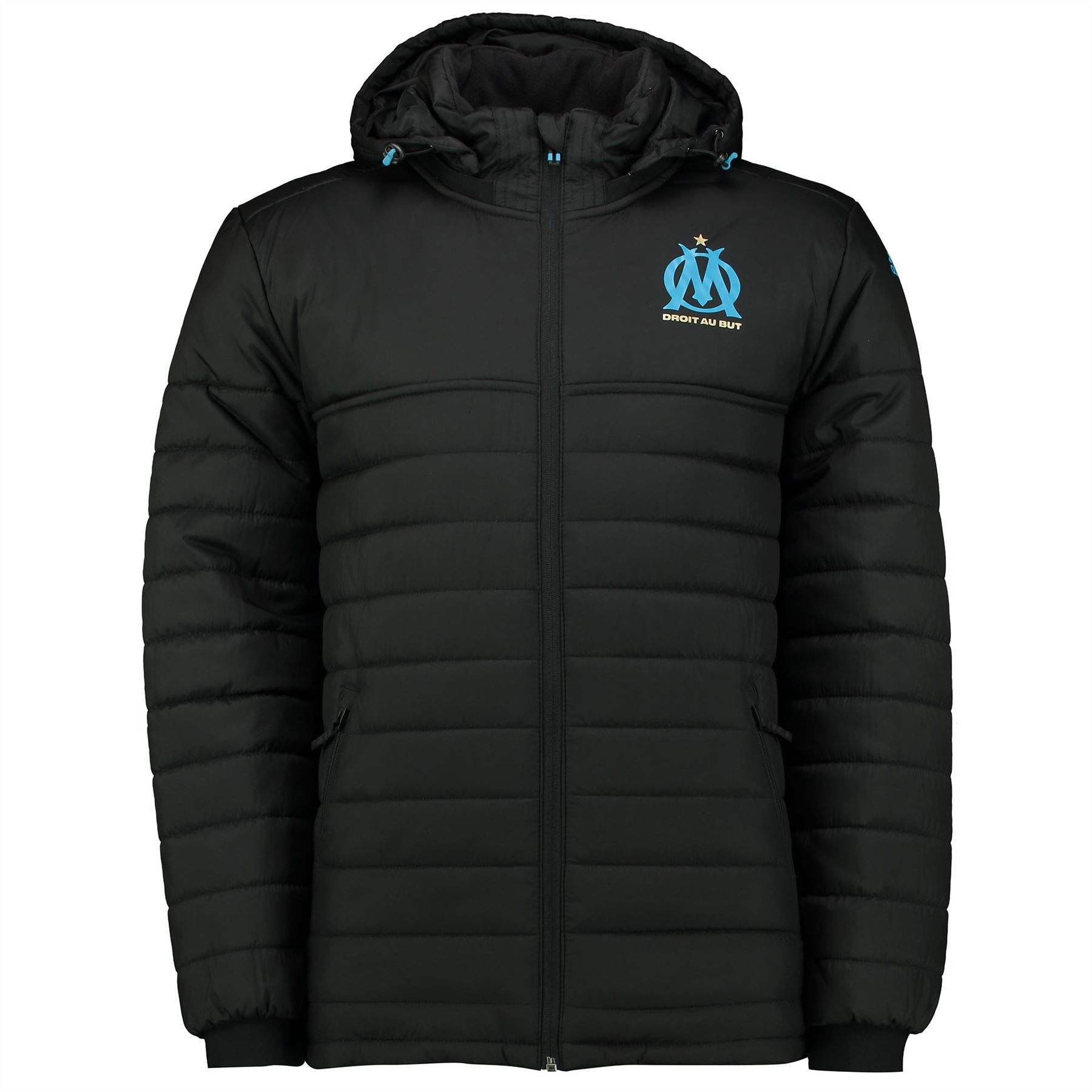 Adidas Mens Gents Football Olympique De Marseille Padded