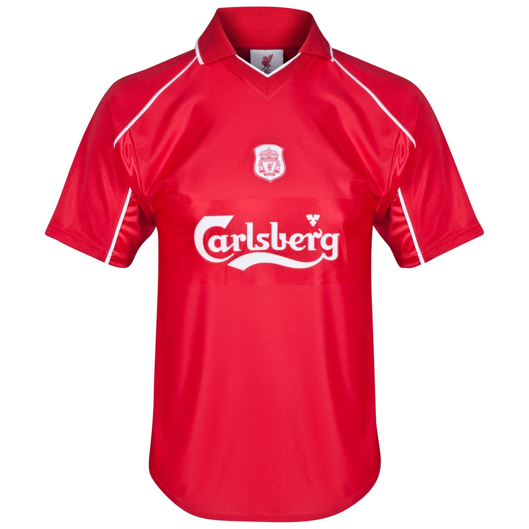Club Branded Mens Gents Retro Football Soccer Liverpool