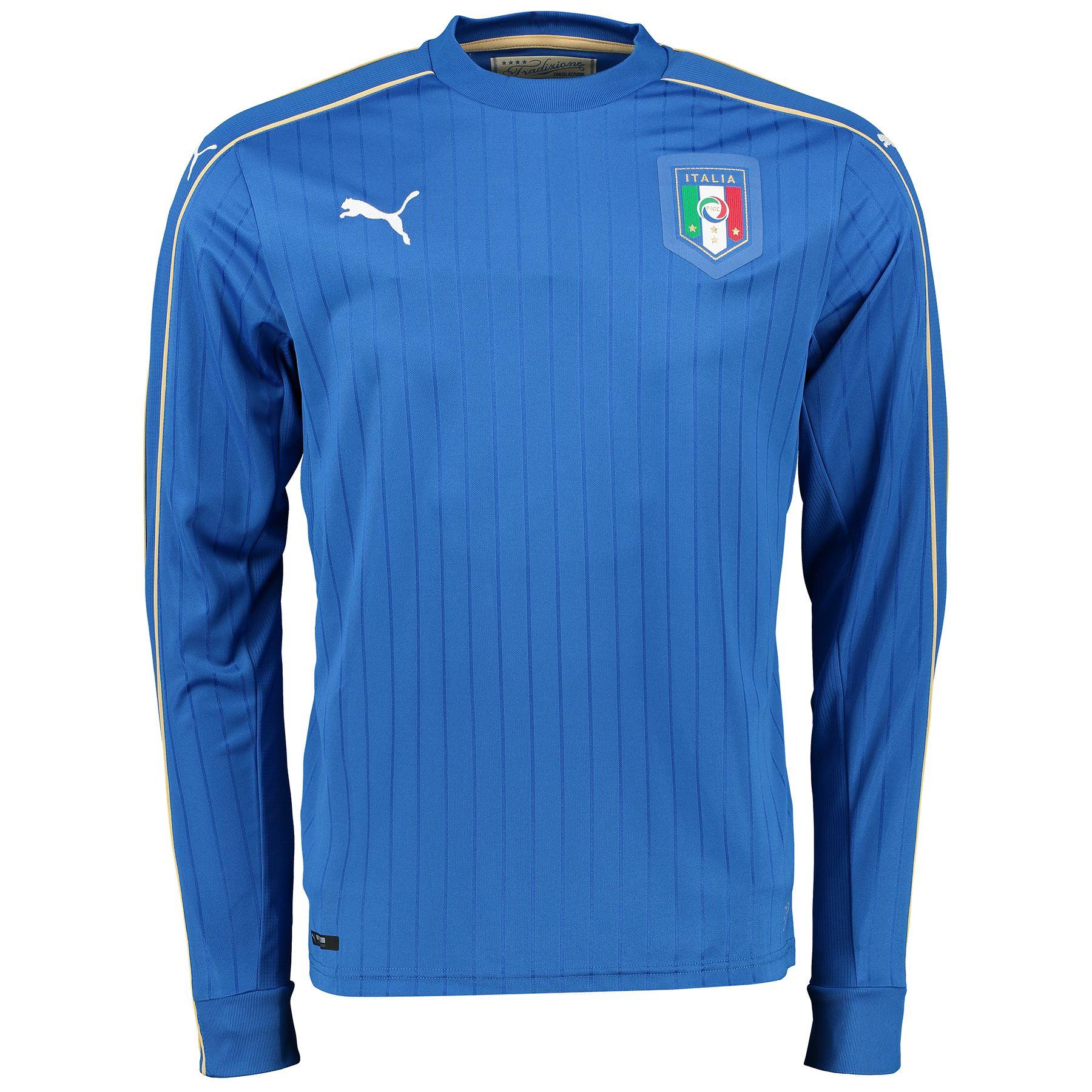 Puma Teamwear - Puma Striped Long Sleeve Football Shirt ... |Cool Puma Soccer Shirts