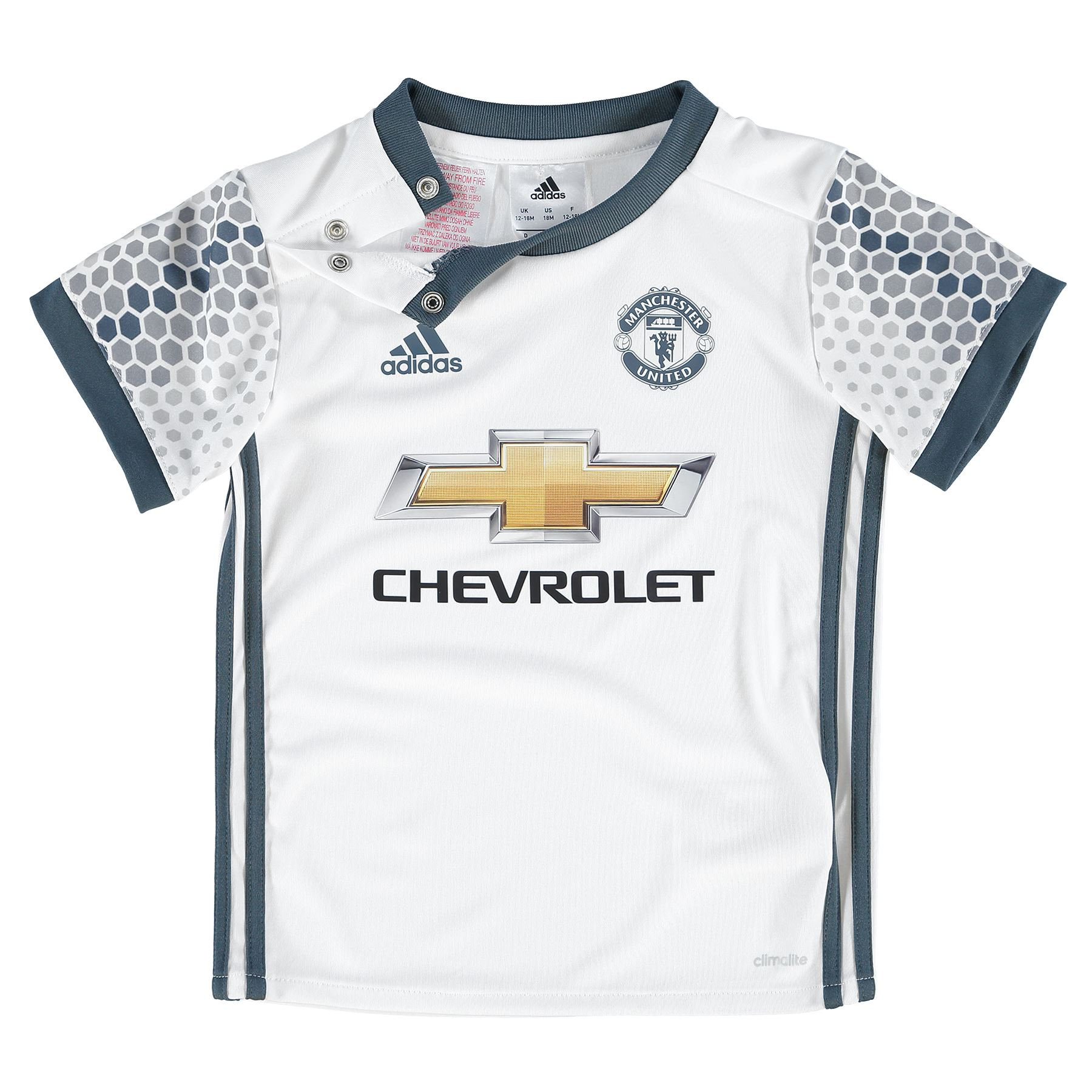 adidas enfants football manchester united ensemble b b 3 me maillot short 16 17 ebay. Black Bedroom Furniture Sets. Home Design Ideas