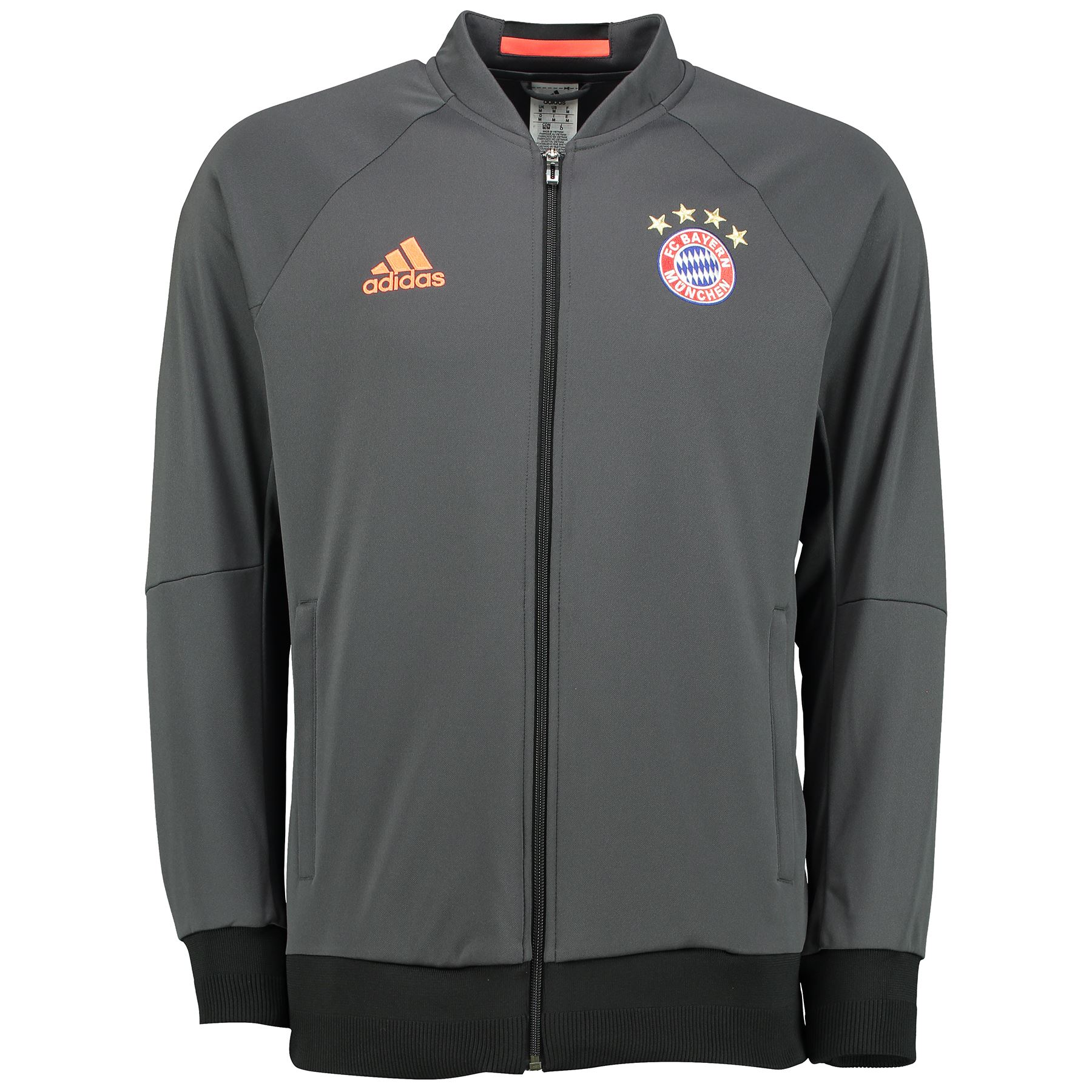 adidas herren fussball bayern muenchen anthem jacke. Black Bedroom Furniture Sets. Home Design Ideas