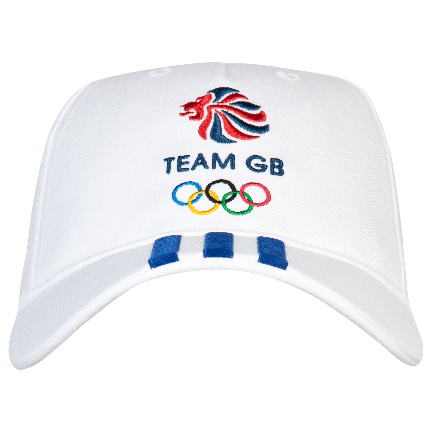 adidas Unisex Team GB Big Logo Sports Cap Hat - White ...
