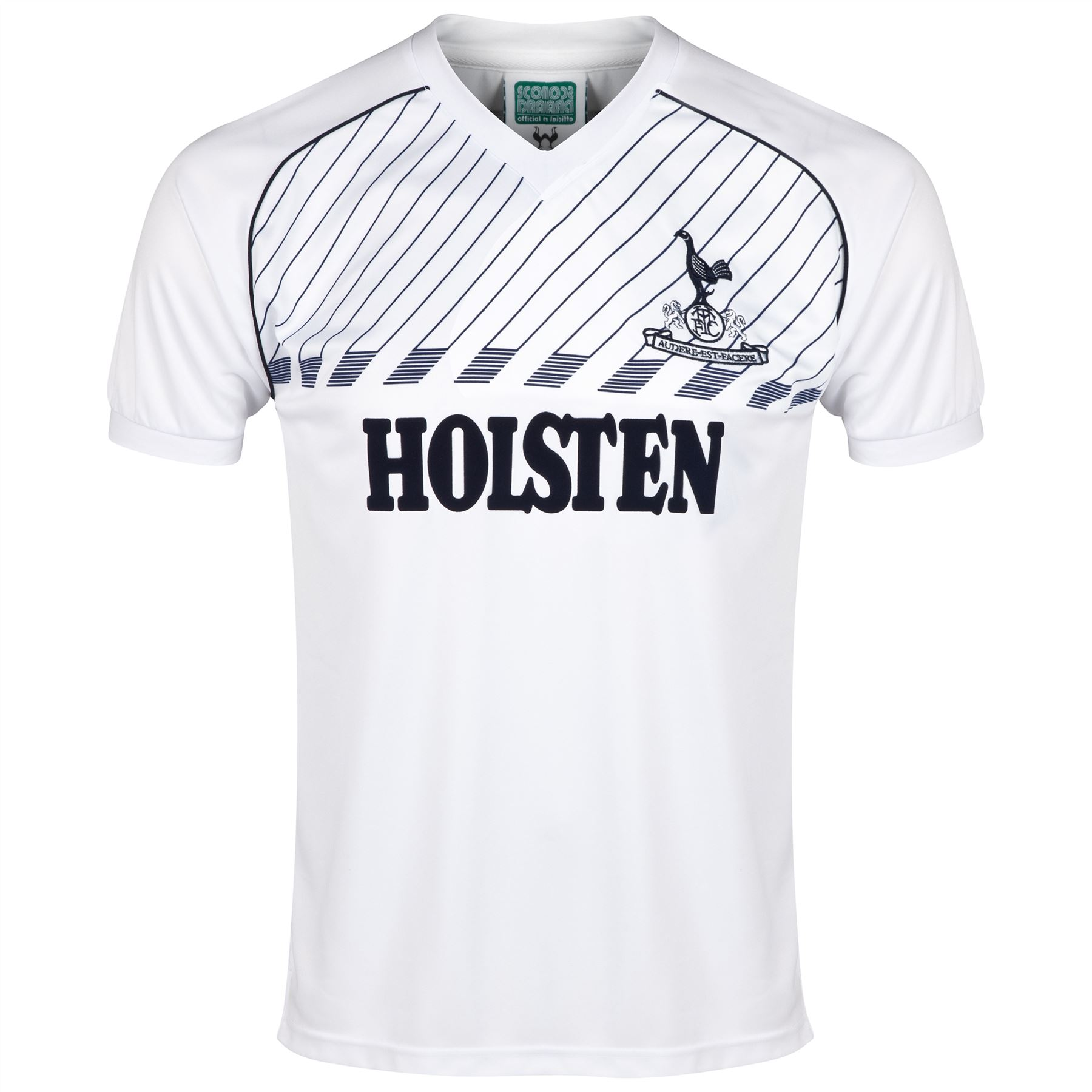 Tottenham: Score Draw Retro Football Tottenham Hotspur 1986 Short