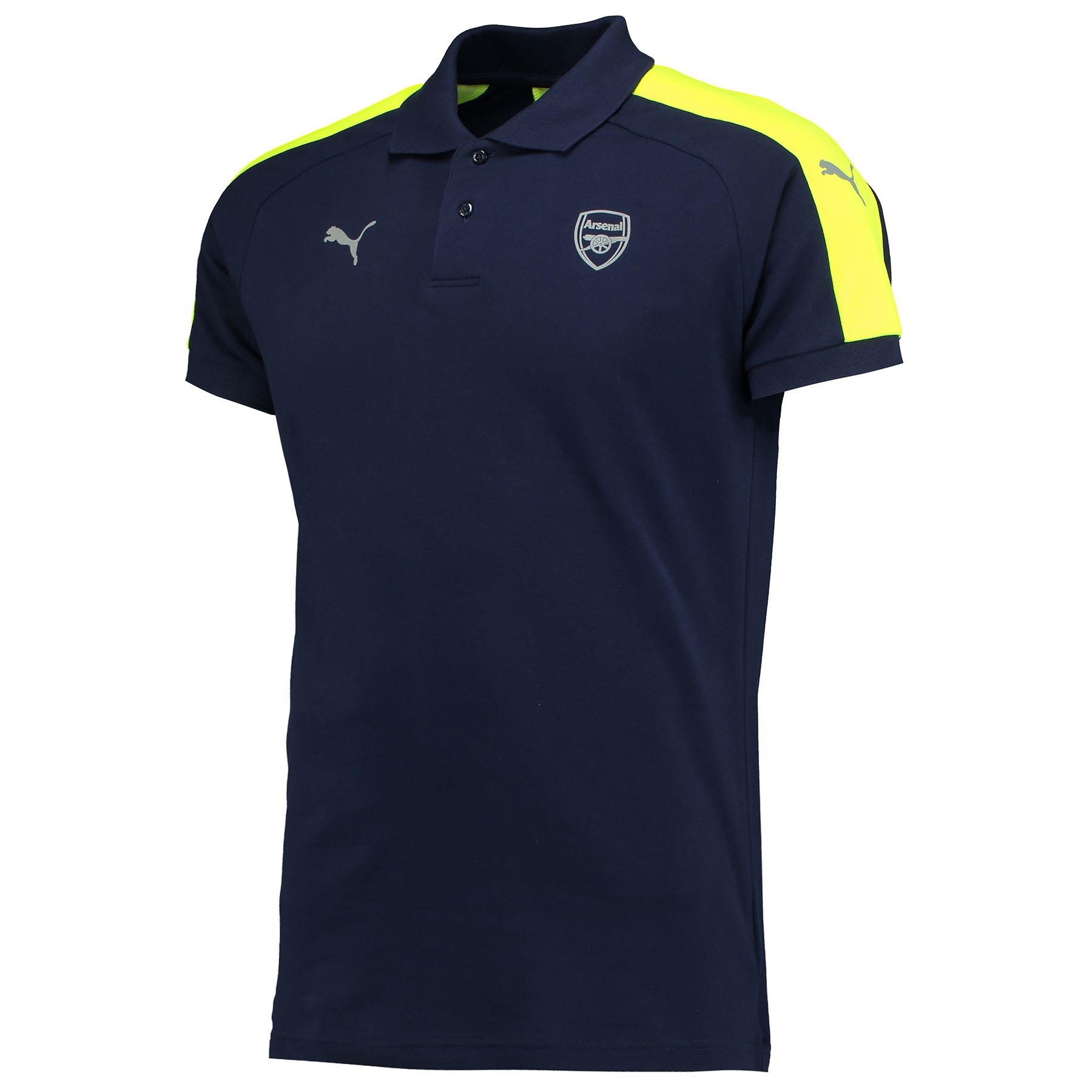 Official Arsenal Puma Mens Gents Football Soccer Casuals ...