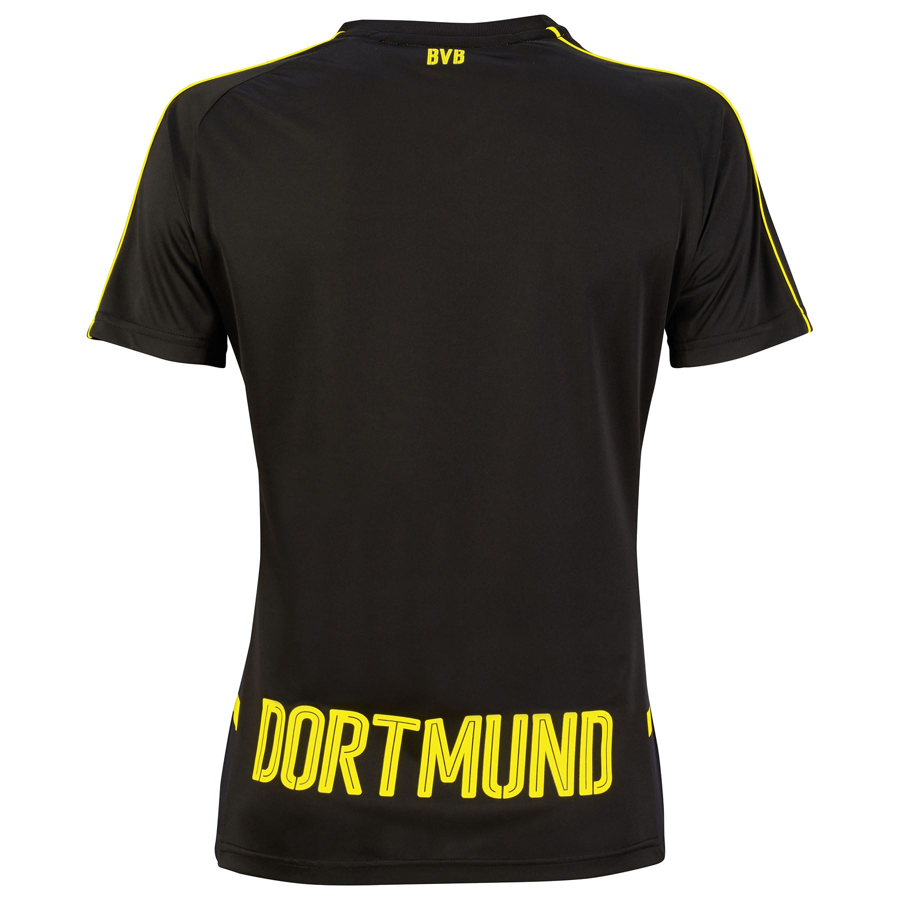 puma damen fussball bvb borussia dortmund away shirt 2016. Black Bedroom Furniture Sets. Home Design Ideas